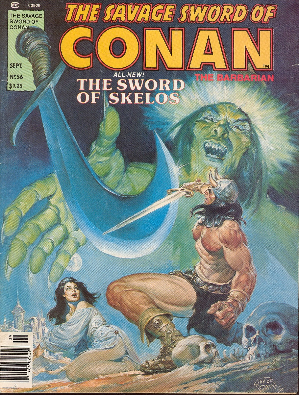 The Savage Sword Of Conan Issue #56 #57 - English 1