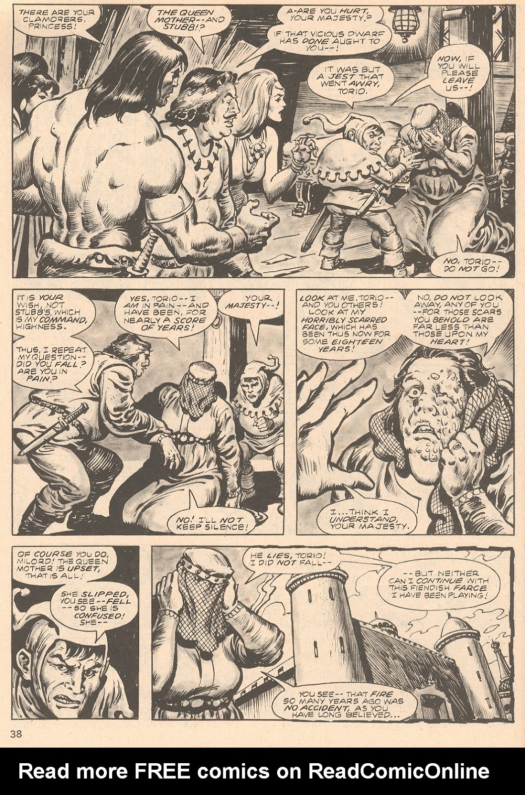 The Savage Sword Of Conan Issue #66 #67 - English 38