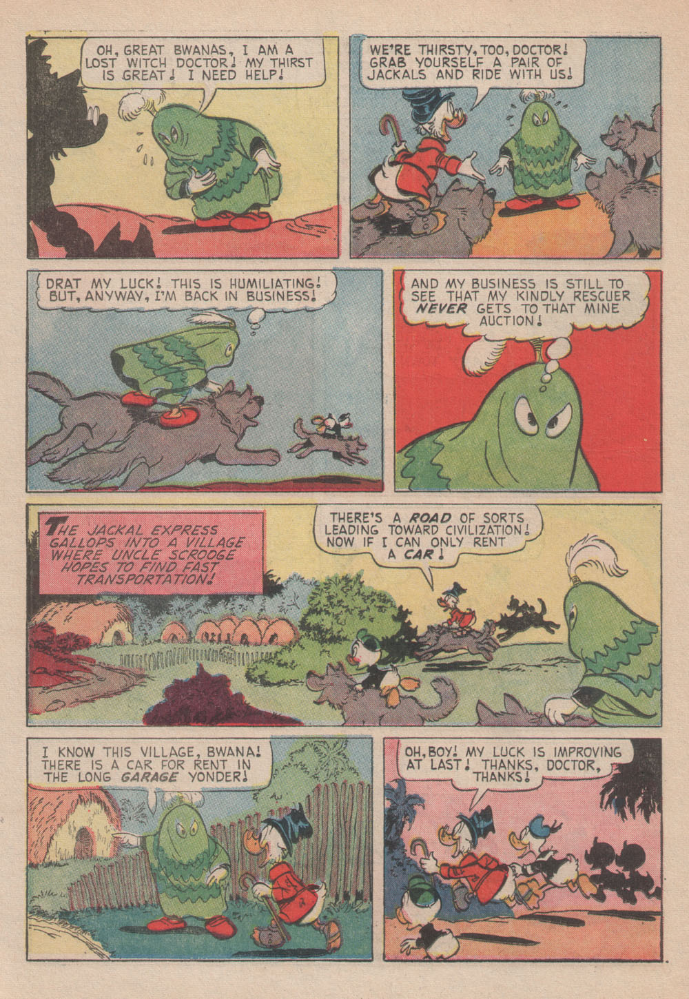 Uncle Scrooge (1953) Issue #61 #61 - English 24