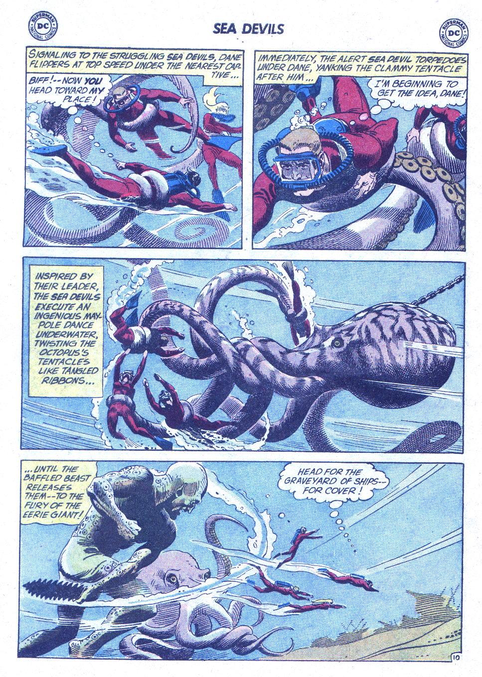 Read online Sea Devils comic -  Issue #1 - 15