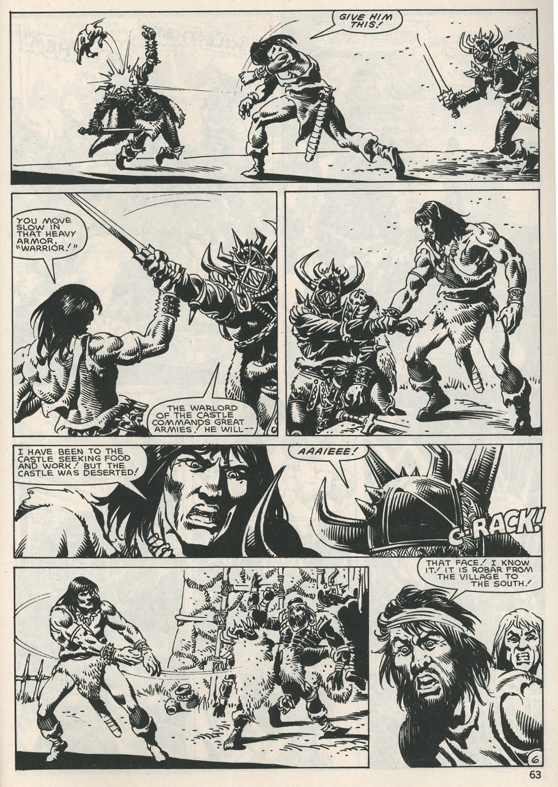 The Savage Sword Of Conan Issue #115 #116 - English 63