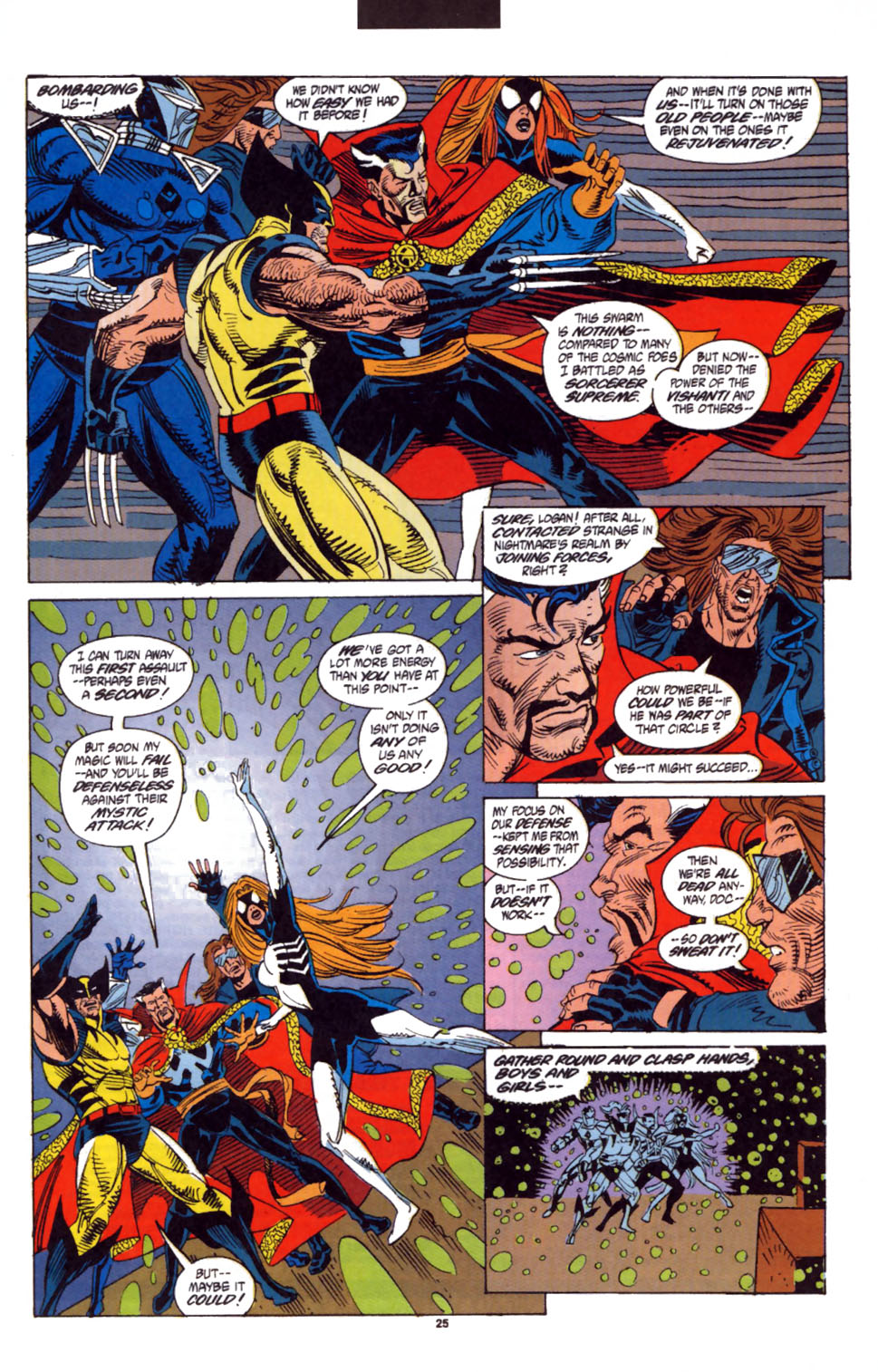 Read online Secret Defenders comic -  Issue #3 - 20