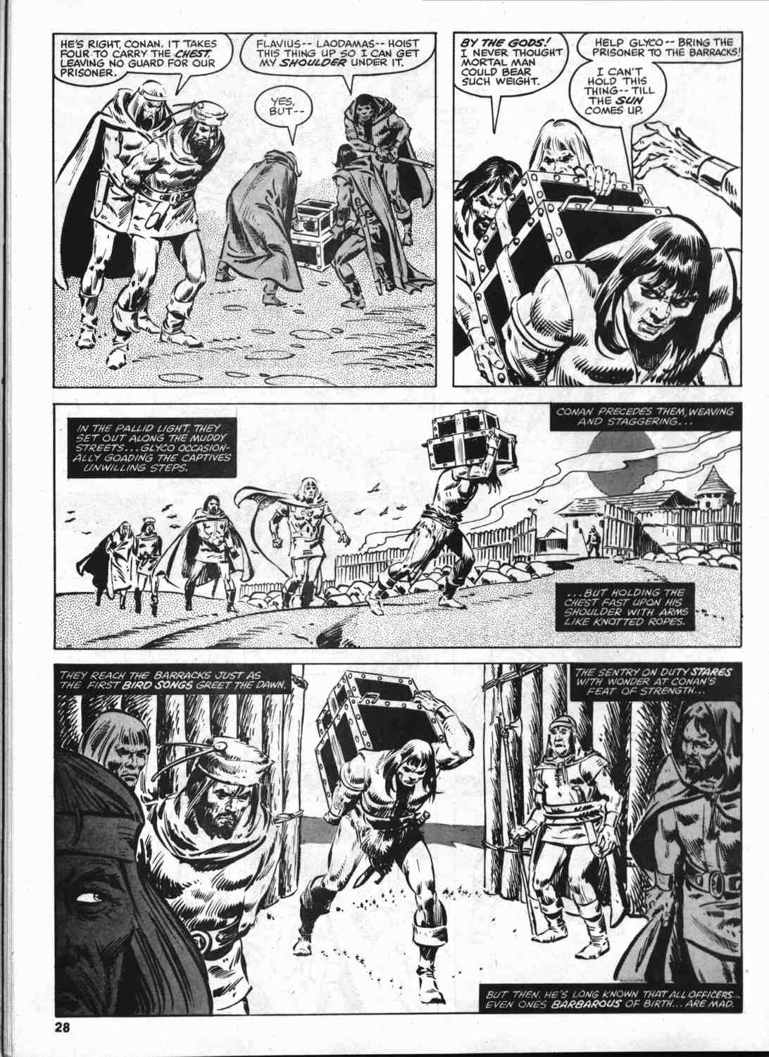 The Savage Sword Of Conan Issue #46 #47 - English 27