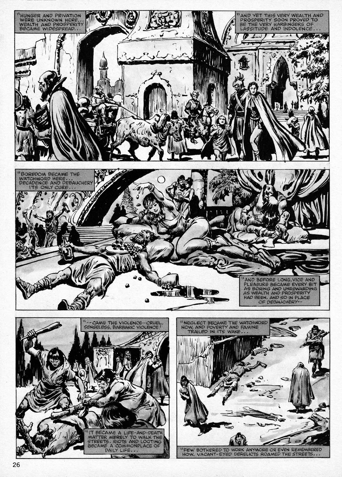 The Savage Sword Of Conan Issue #77 #78 - English 26