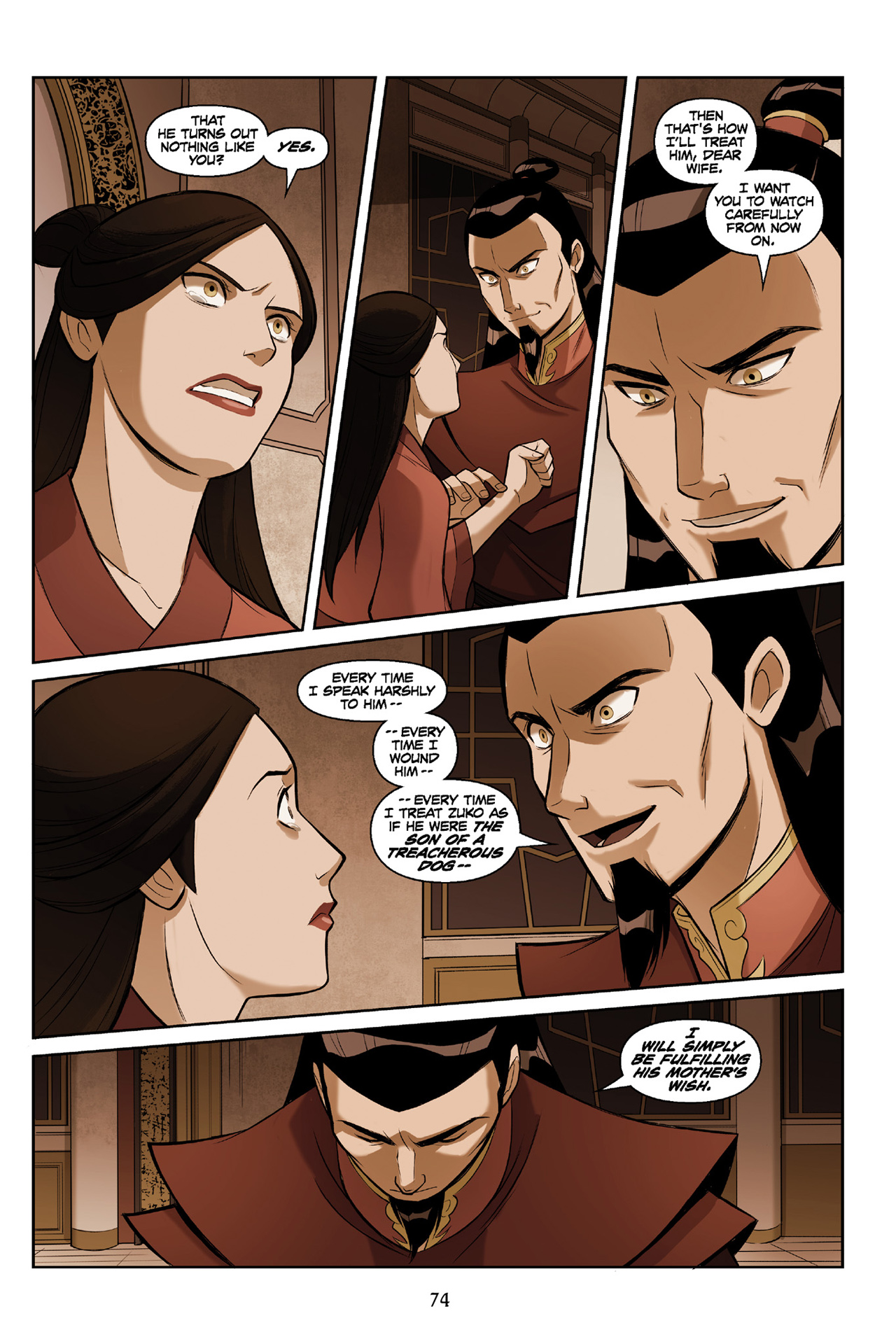 Read online Nickelodeon Avatar: The Last Airbender - The Search comic -  Issue # Part 3 - 74