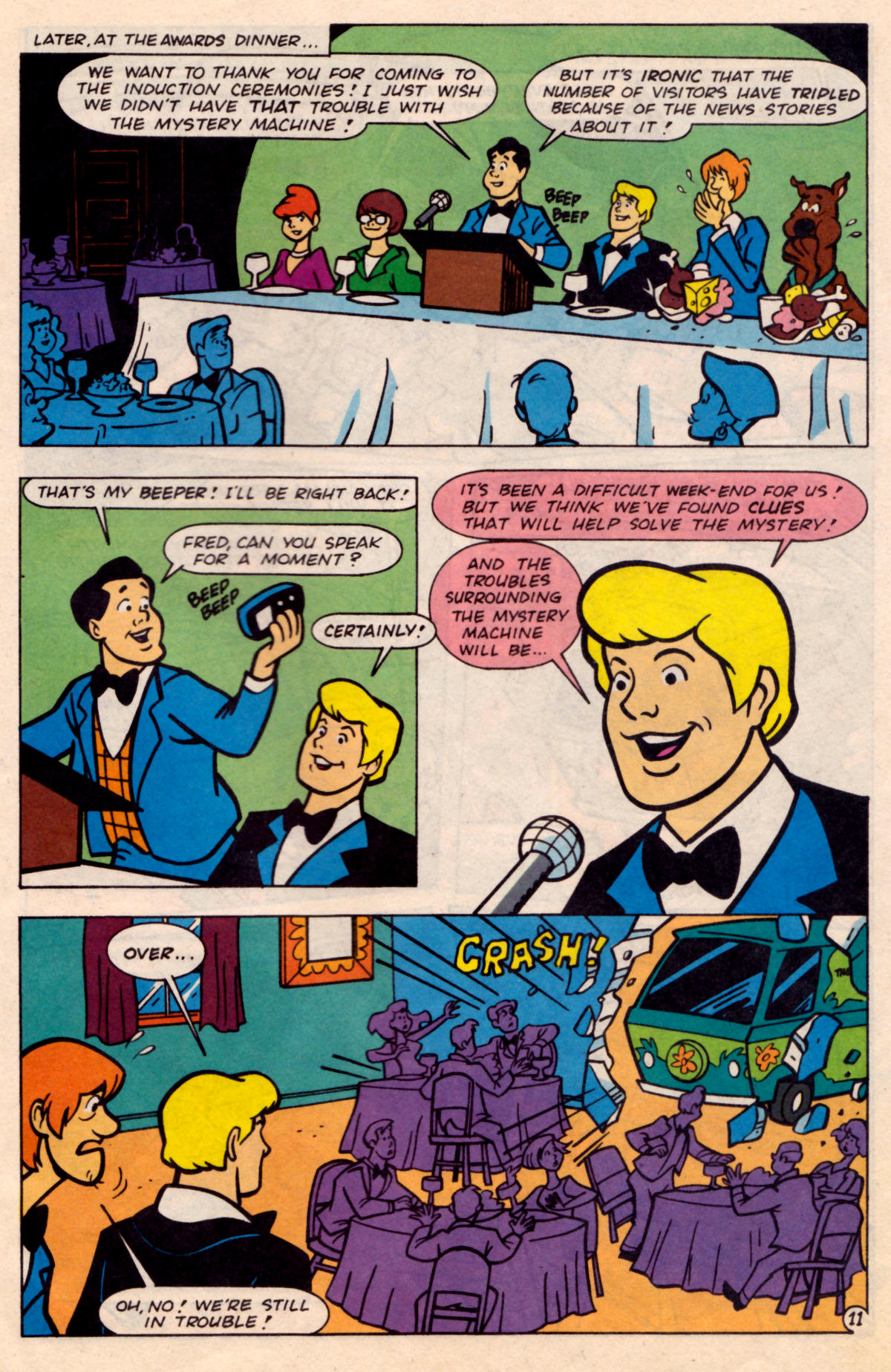 Read online Scooby-Doo (1995) comic -  Issue #18 - 12