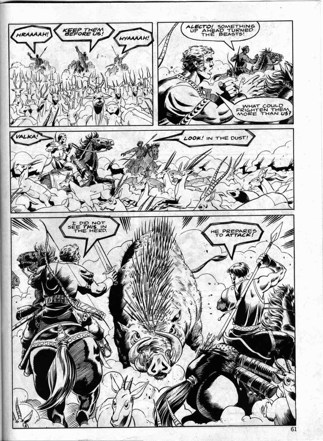 The Savage Sword Of Conan Issue #133 #134 - English 60