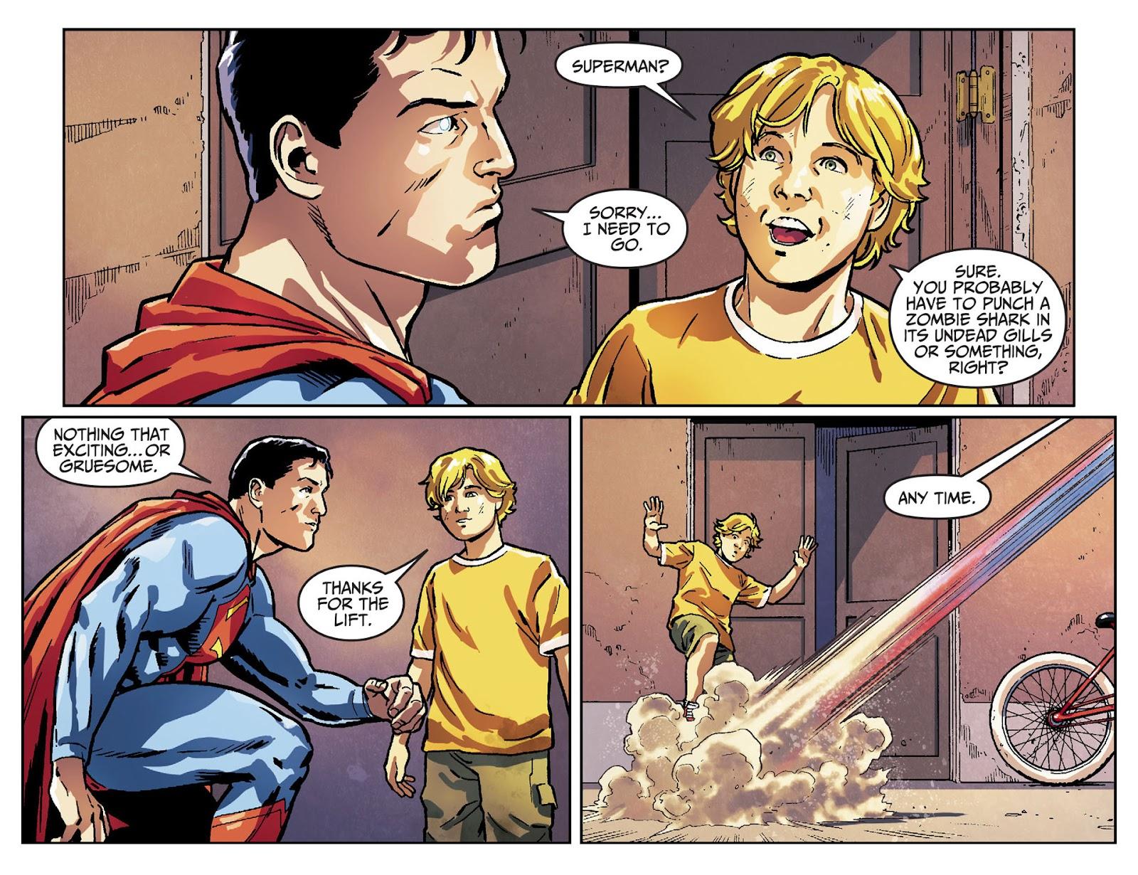 Injustice: Gods Among Us [I] Issue #30 #31 - English 12