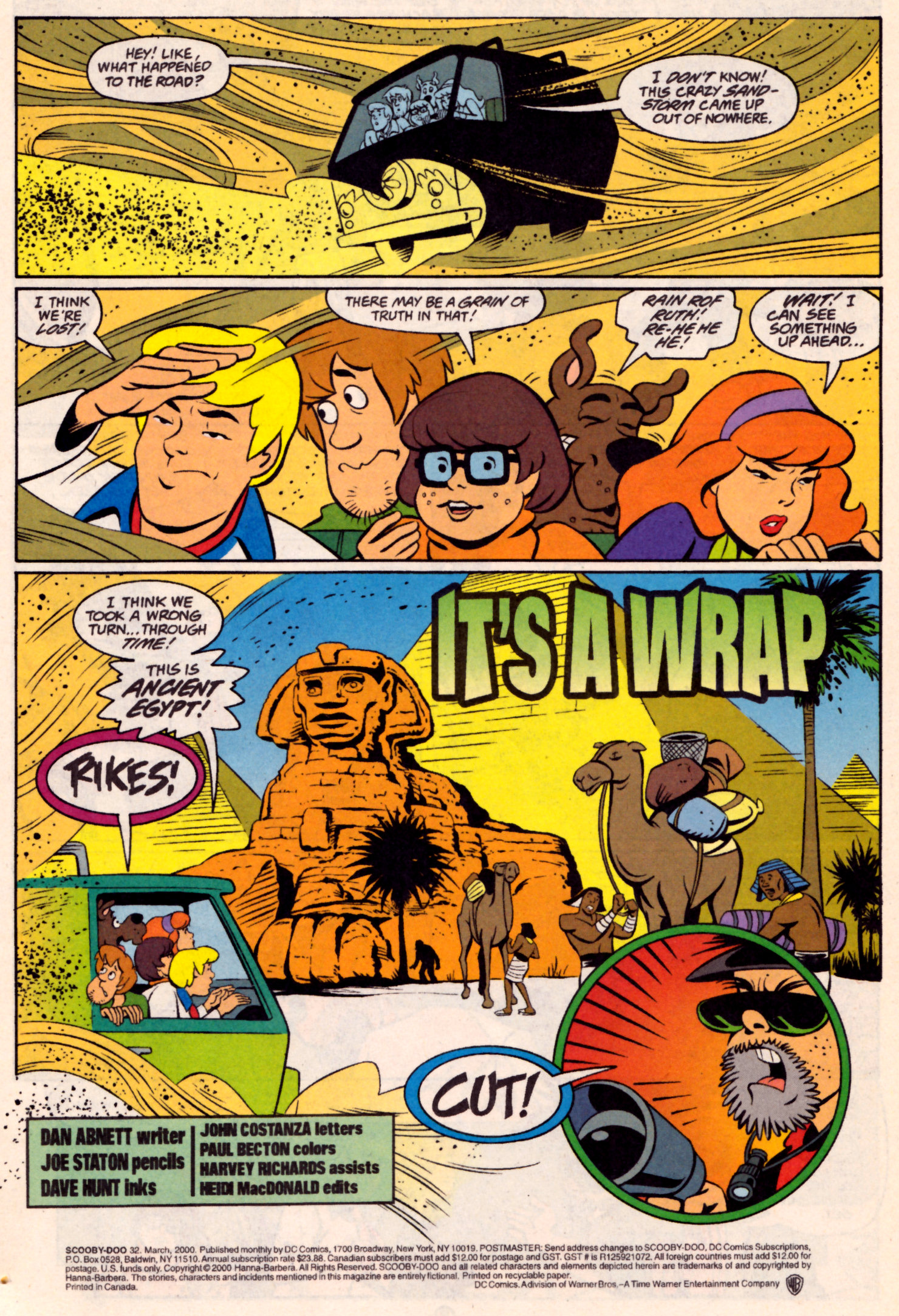 Read online Scooby-Doo (1997) comic -  Issue #32 - 2
