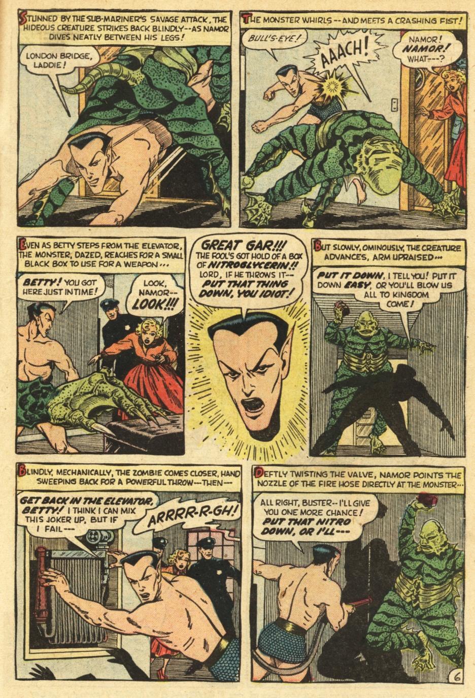Sub-Mariner Comics #35 #35 - English 31