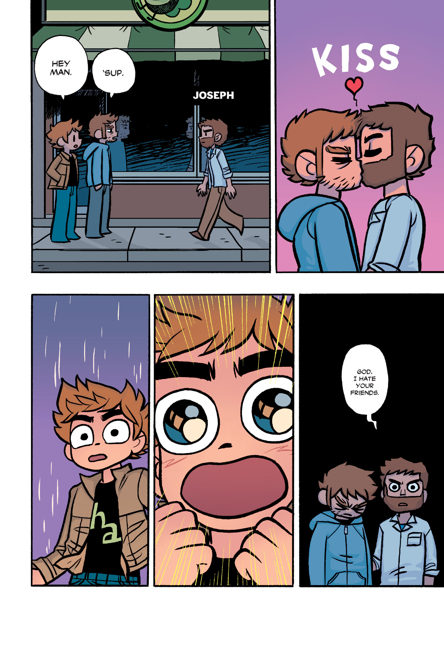 Read online Scott Pilgrim comic -  Issue #6 - 229