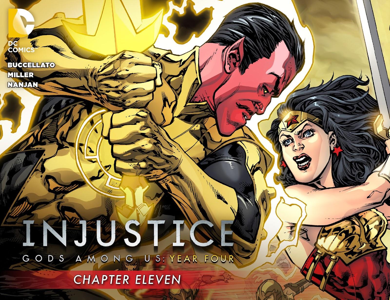 Injustice: Gods Among Us Year Four Issue #11 #12 - English 1