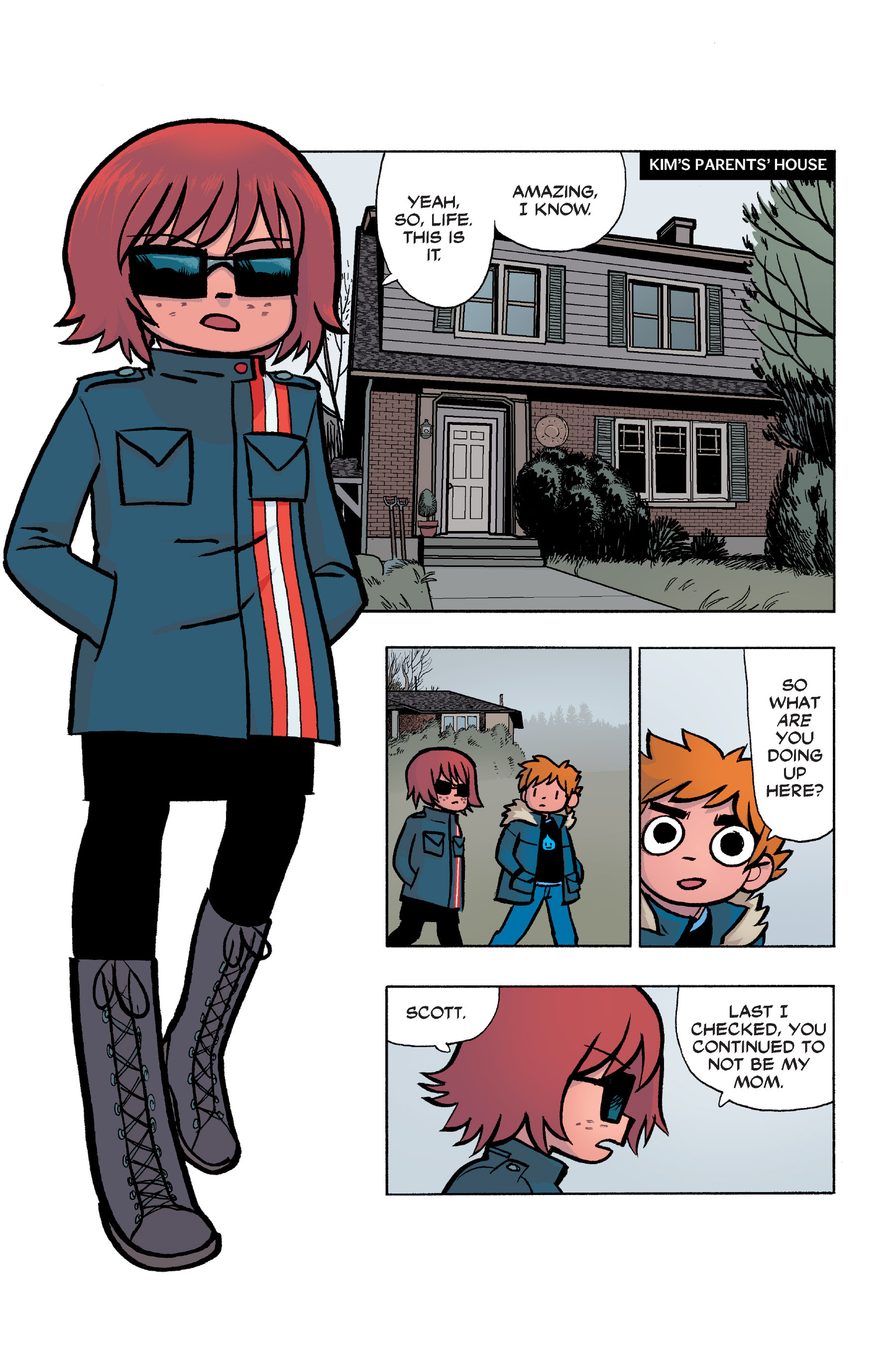 Read online Scott Pilgrim comic -  Issue #6 - 64