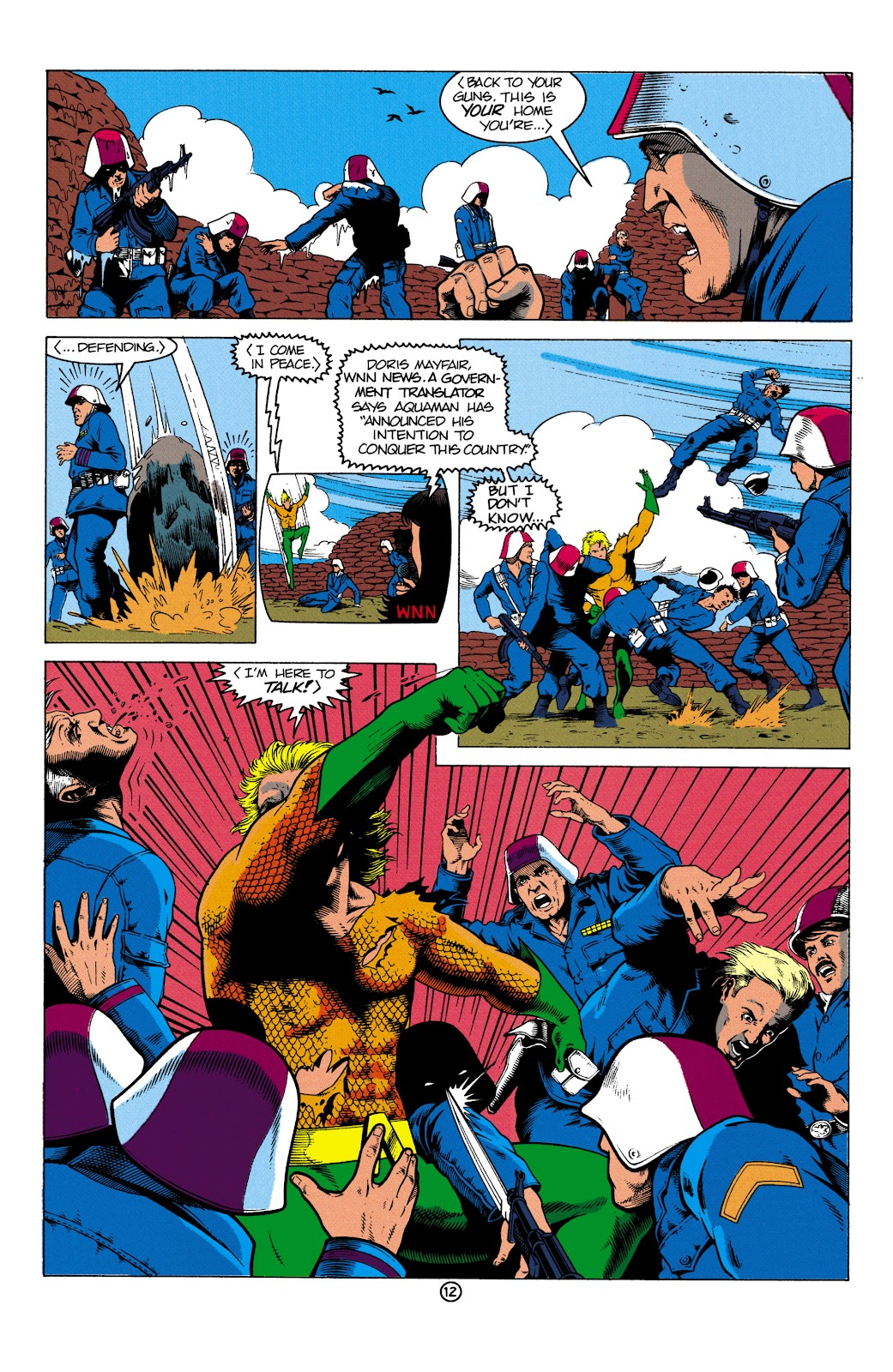 Aquaman (1991) Issue #2 #2 - English 13