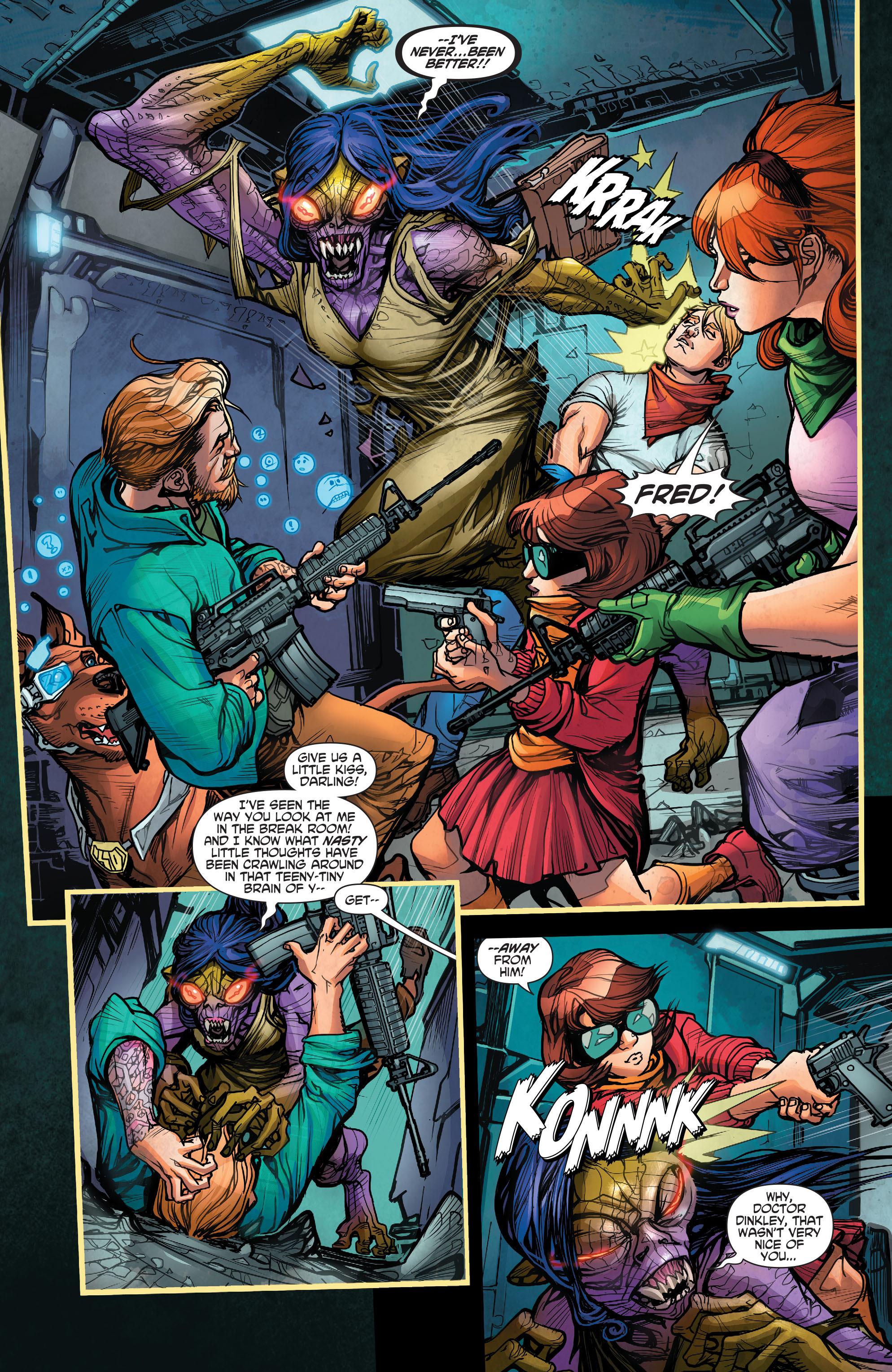 Read online Scooby Apocalypse comic -  Issue #2 - 17