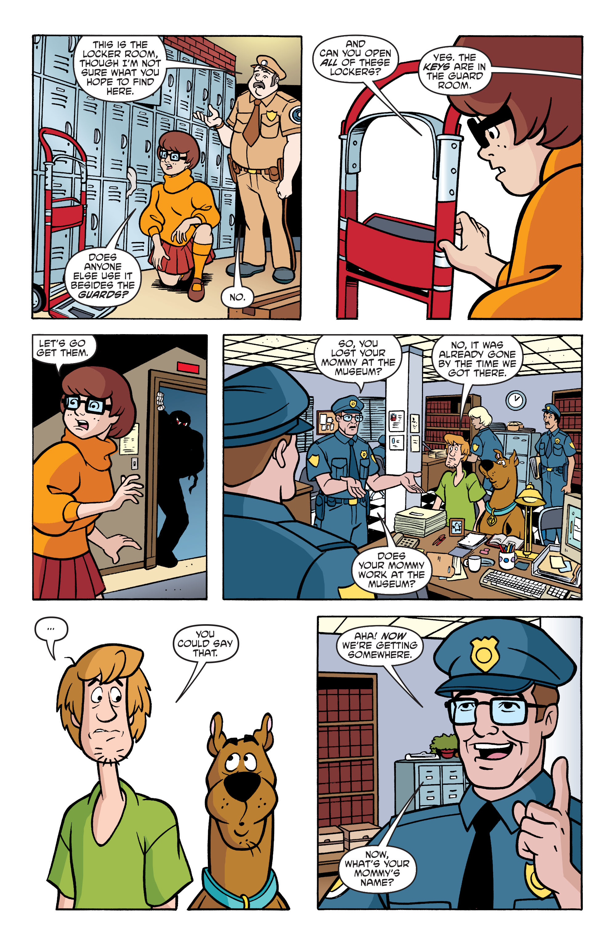 Read online Scooby-Doo: Where Are You? comic -  Issue #62 - 17