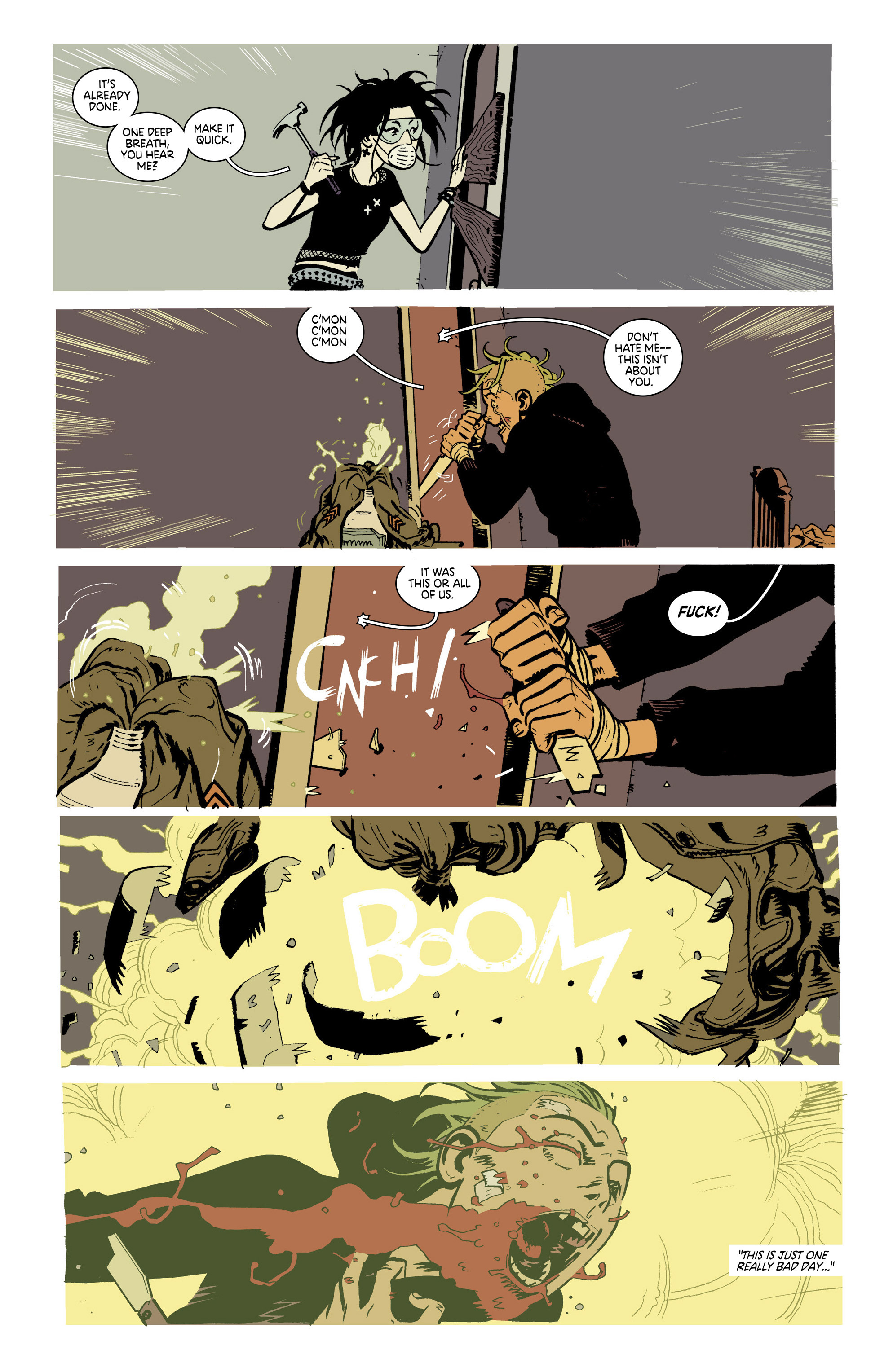 Read online Deadly Class comic -  Issue #21 - 17
