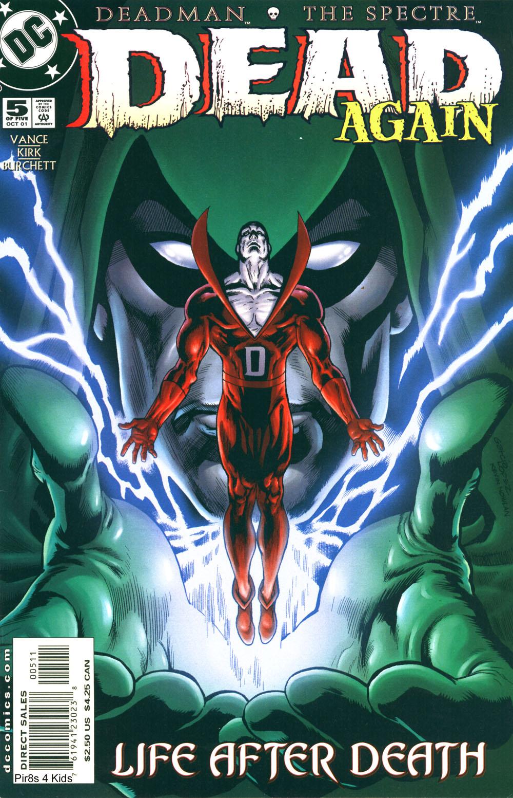 Read online Deadman: Dead Again comic -  Issue #5 - 1