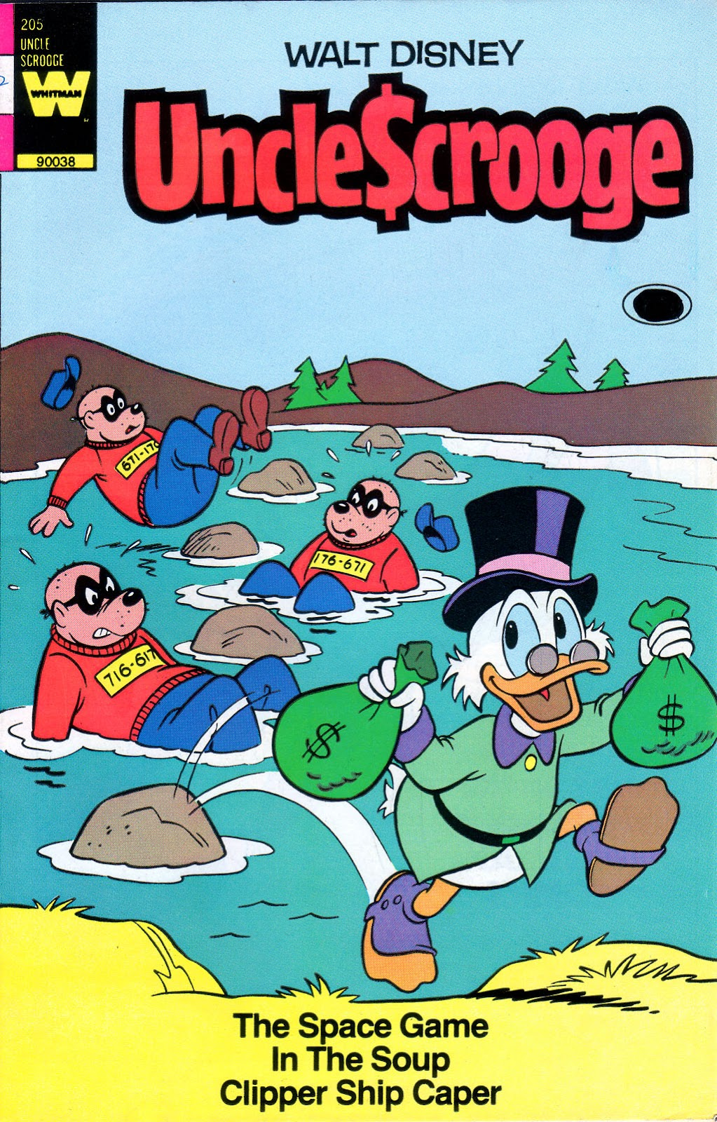 Uncle Scrooge (1953) Issue #205 #205 - English 1