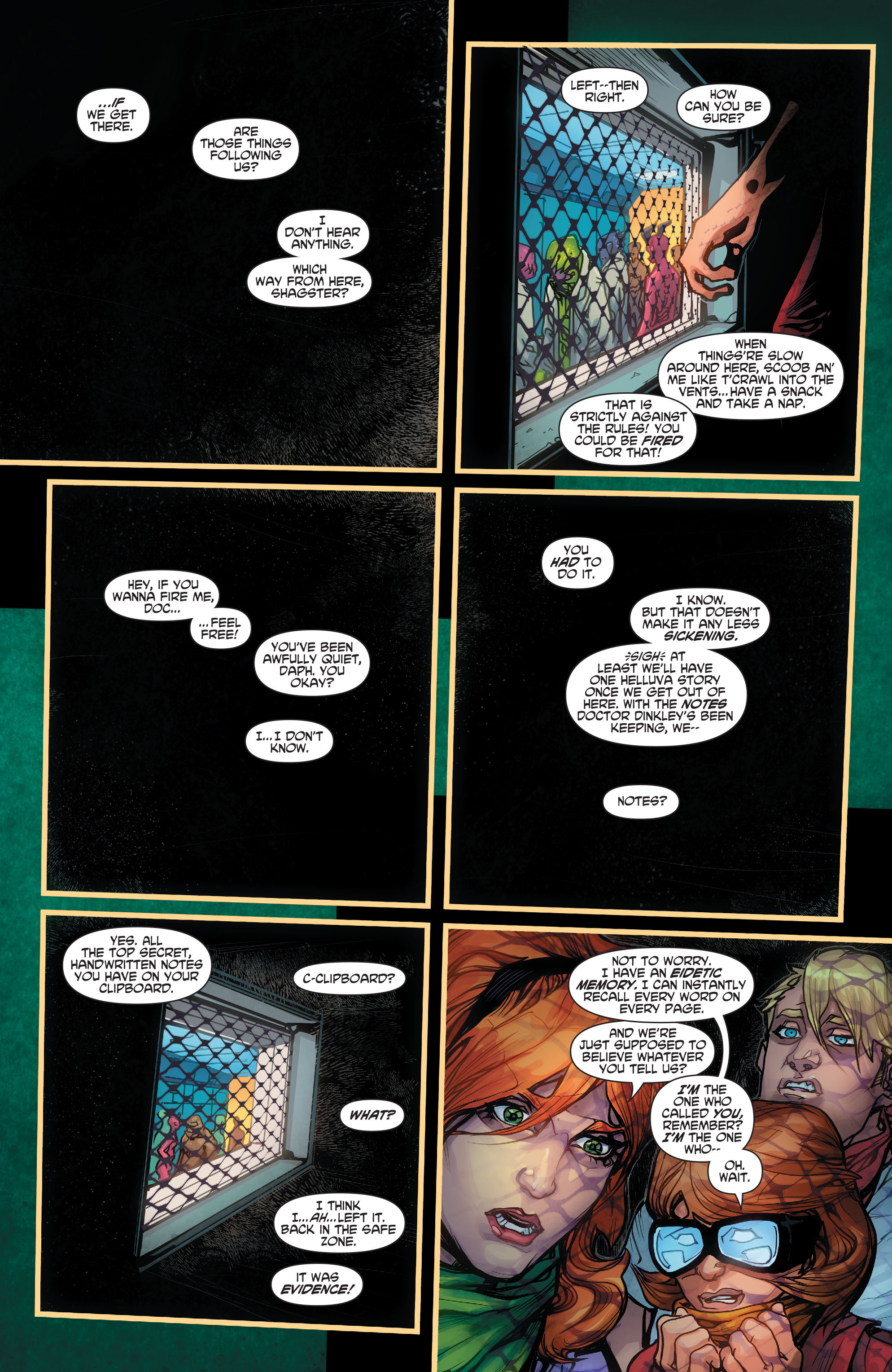 Read online Scooby Apocalypse comic -  Issue #2 - 22