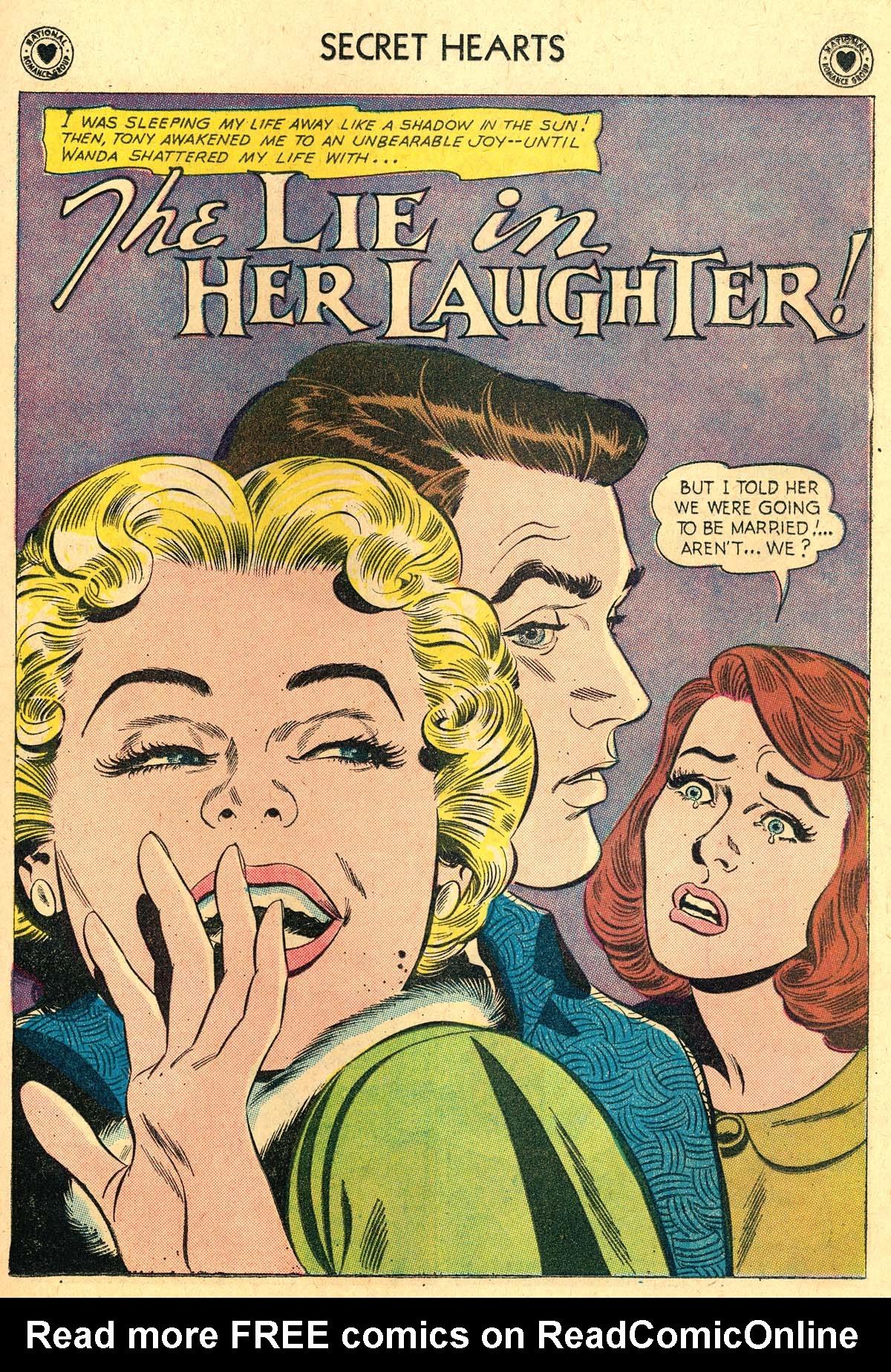 Read online Secret Hearts comic -  Issue #69 - 27