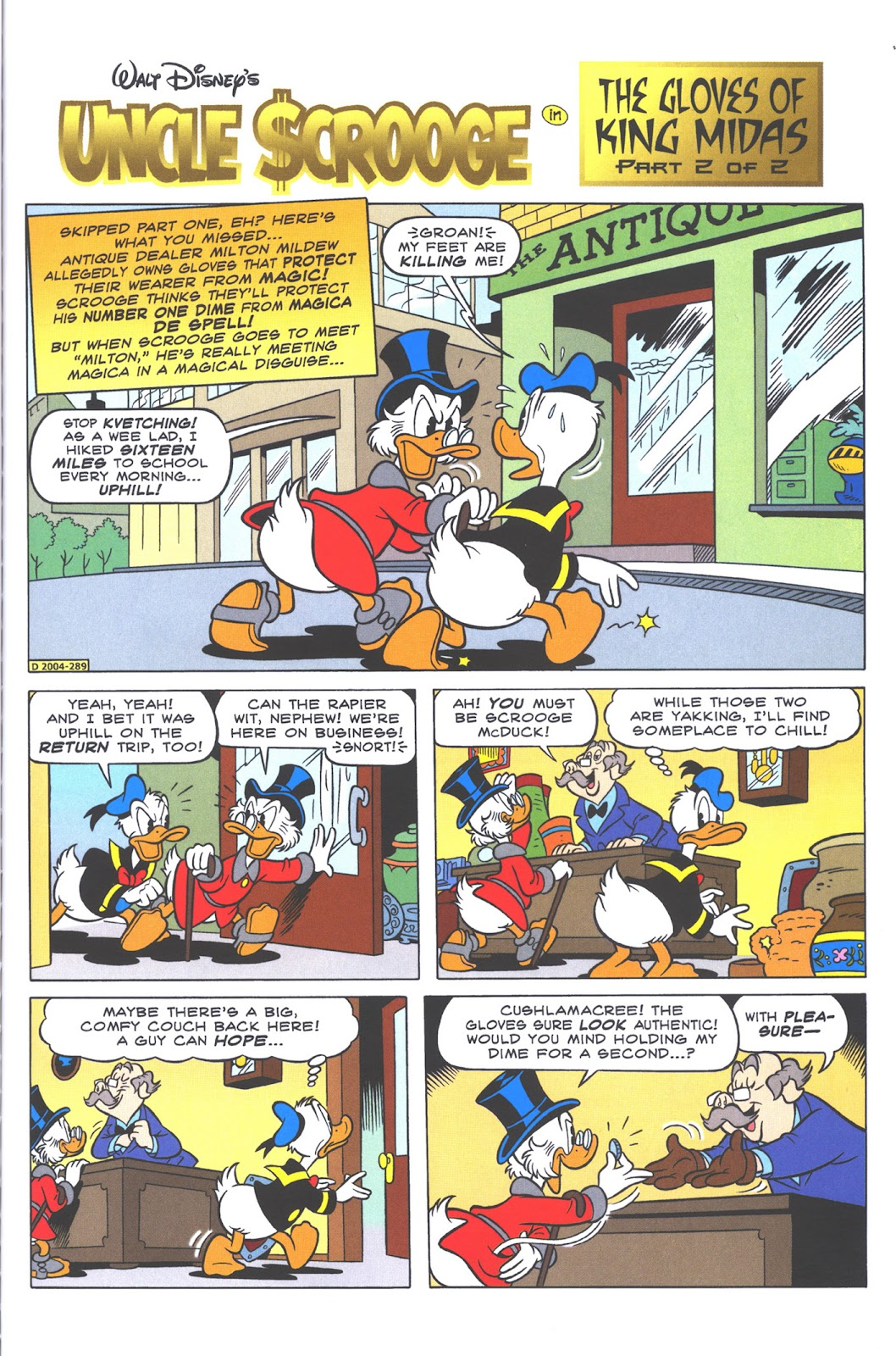 Uncle Scrooge (1953) Issue #371 #371 - English 45