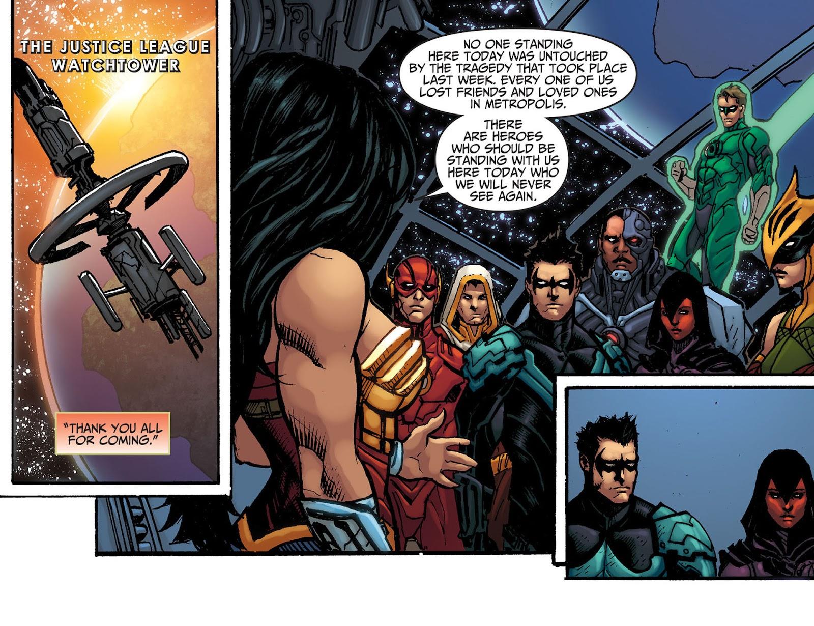 Injustice: Gods Among Us [I] Issue #8 #9 - English 3
