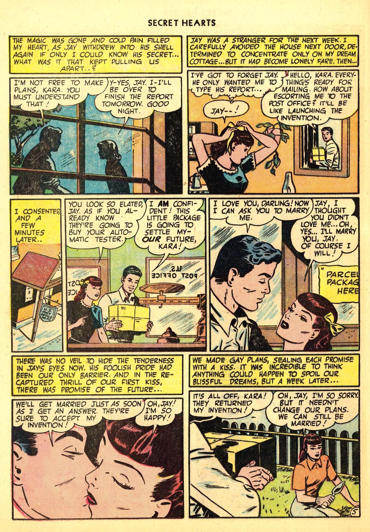 Read online Secret Hearts comic -  Issue #6 - 16