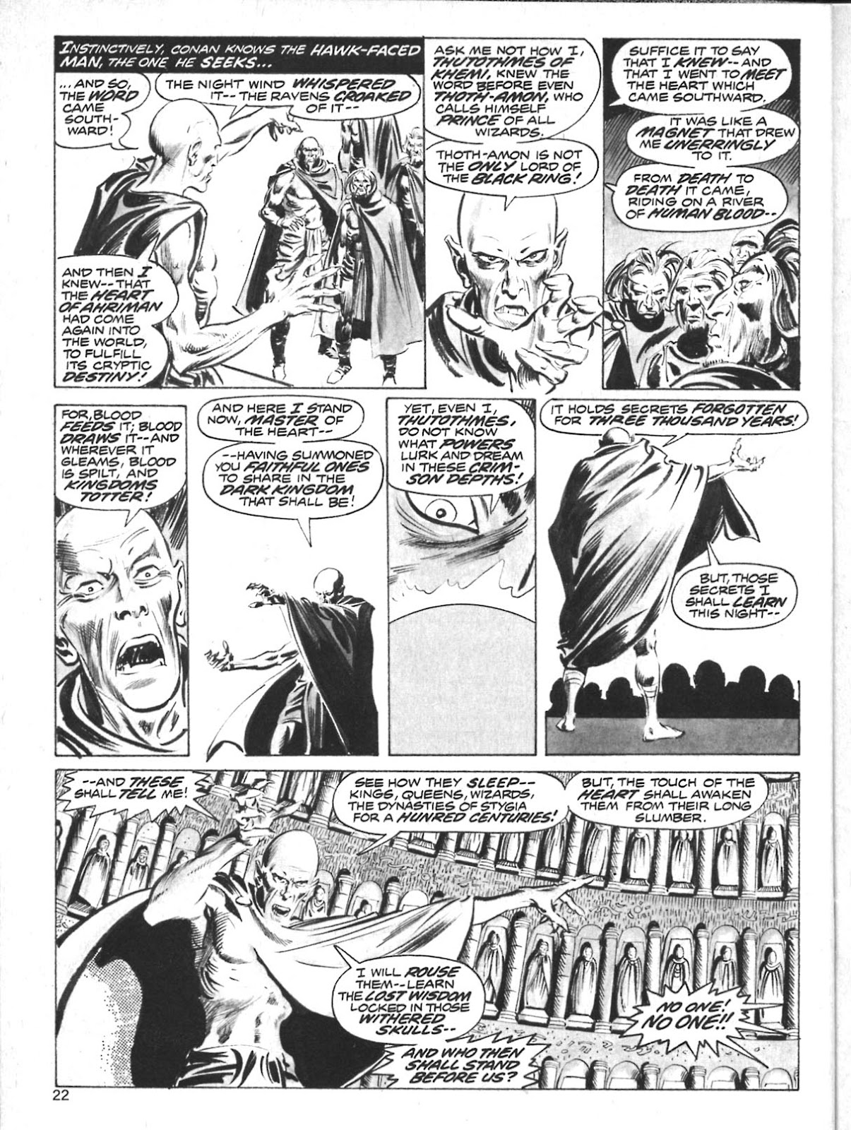 The Savage Sword Of Conan Issue #10 #11 - English 20