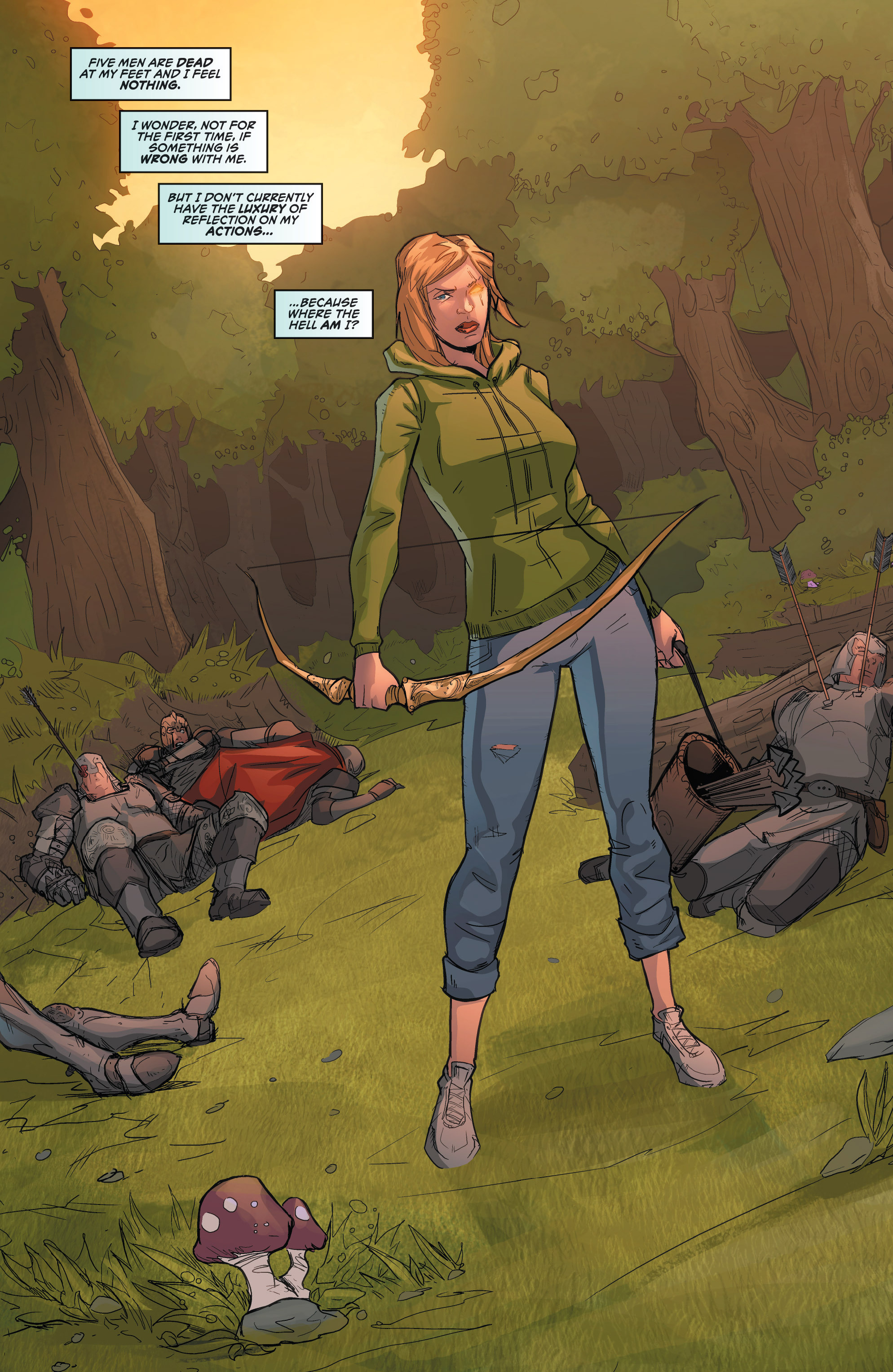 Read online Grimm Fairy Tales presents Robyn Hood (2012) comic -  Issue #2 - 7