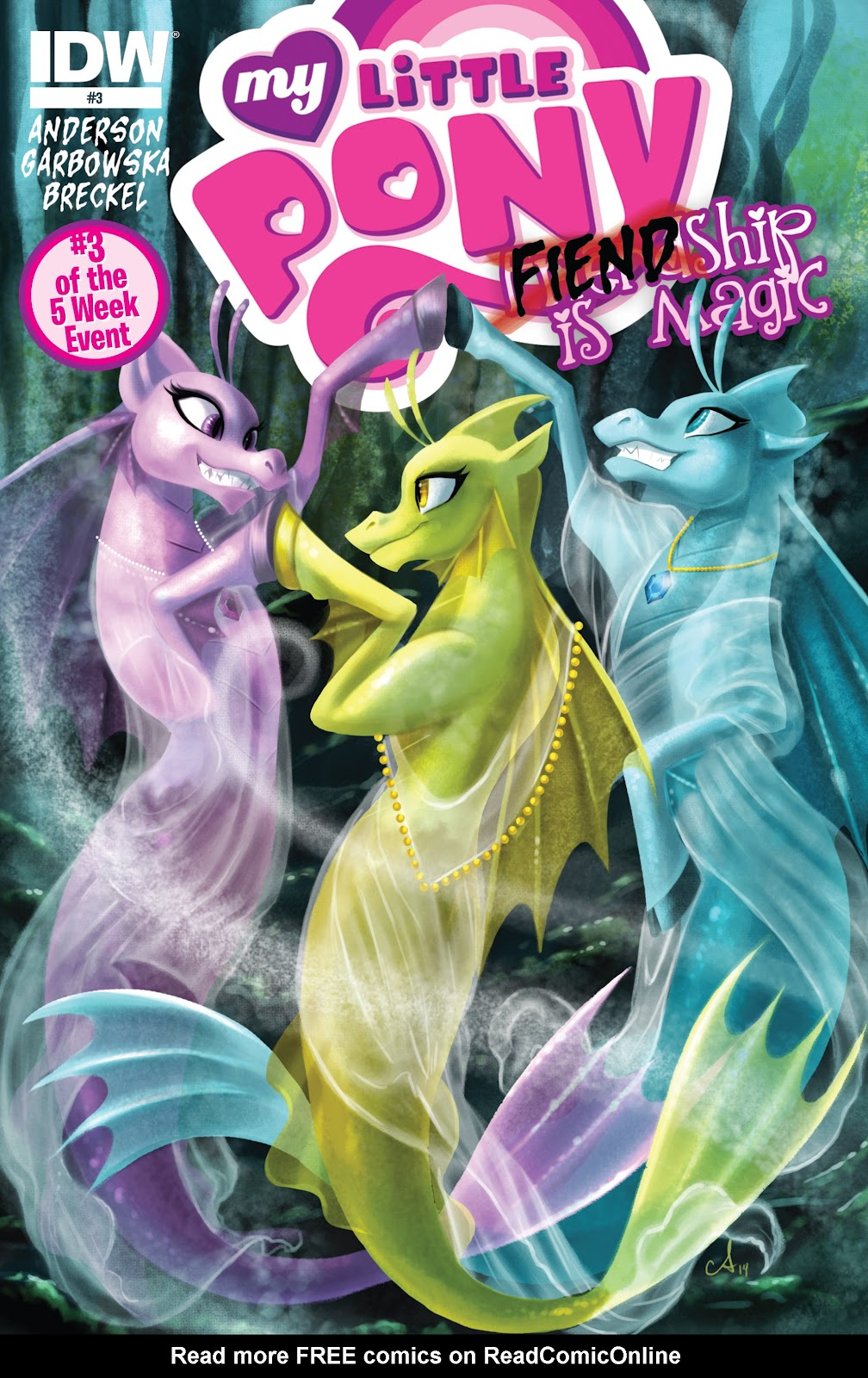 My Little Pony: Fiendship is Magic Issue #3 #3 - English 1