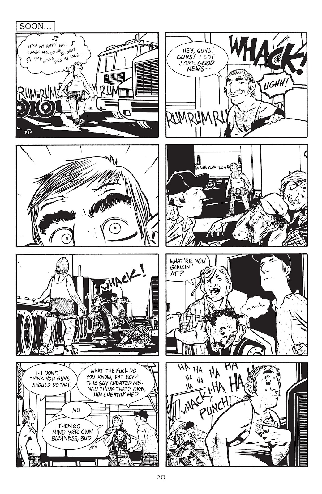 Stray Bullets Issue #9 #9 - English 22