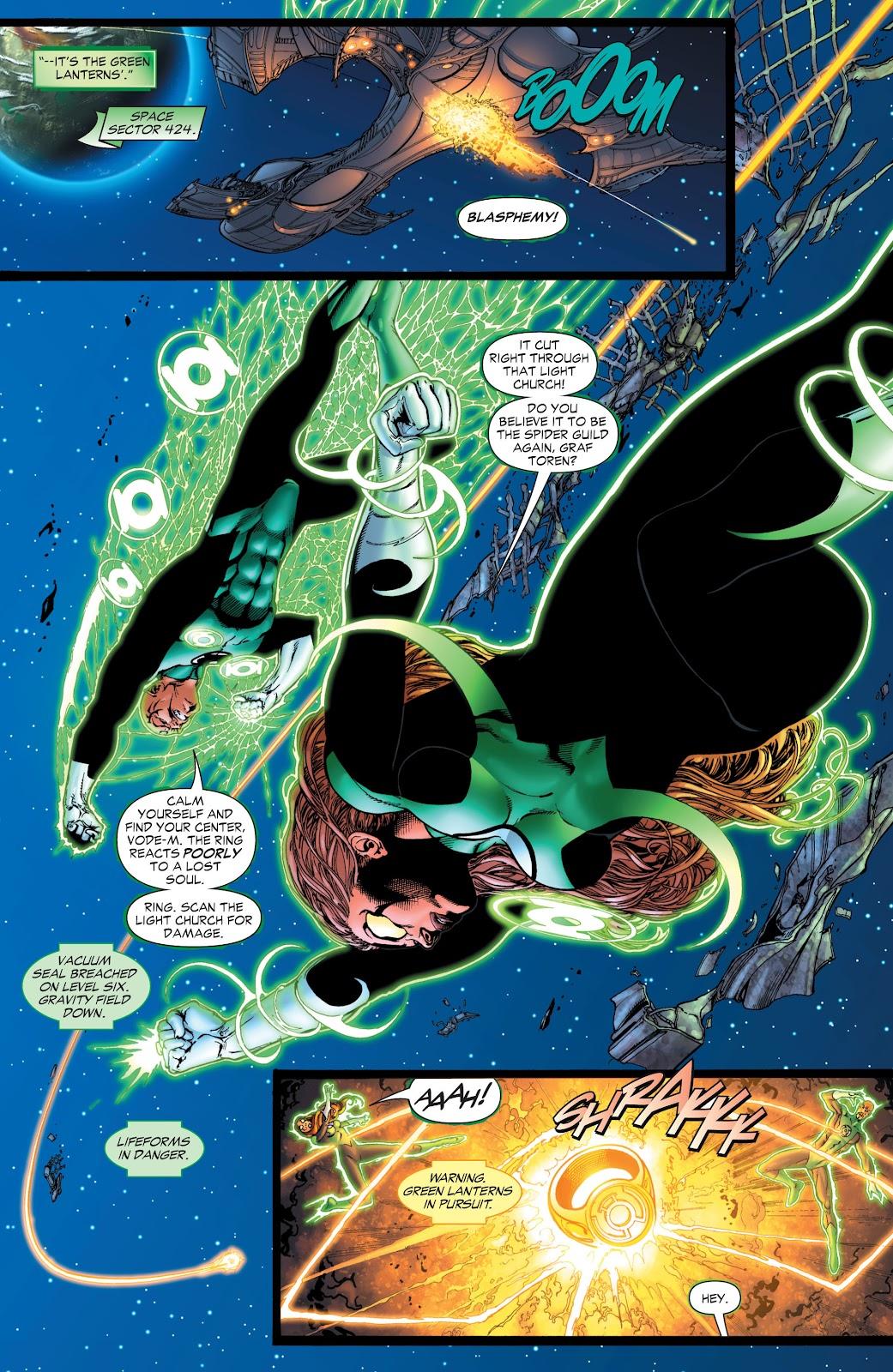 Green Lantern: The Sinestro Corps War Full #1 - English 15