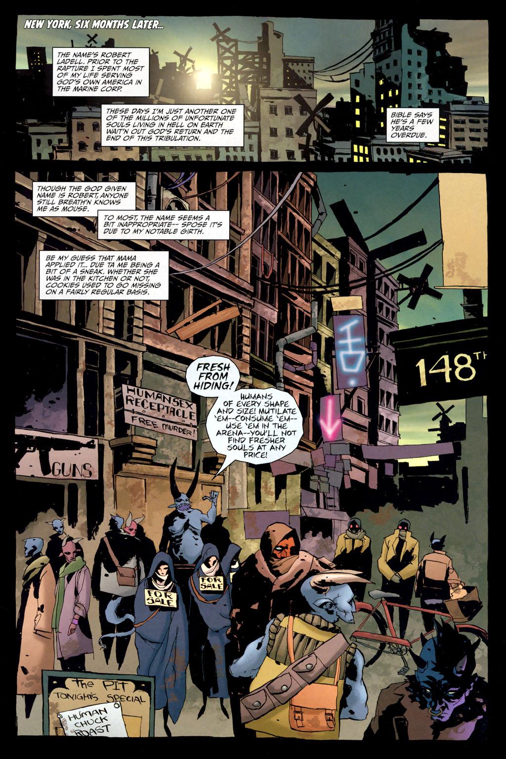 Strange Girl Issue #10 #11 - English 3
