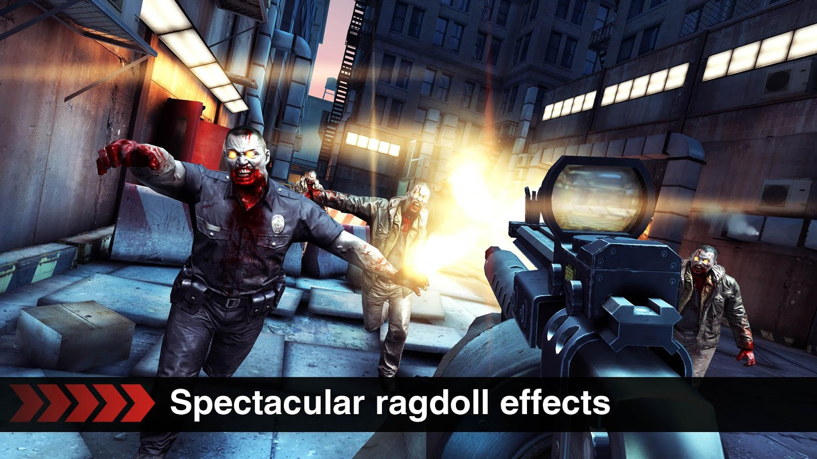 Dead Trigger v1.8.2 Apk + Data Unlimited Gold + Unlimited Money Mod Download