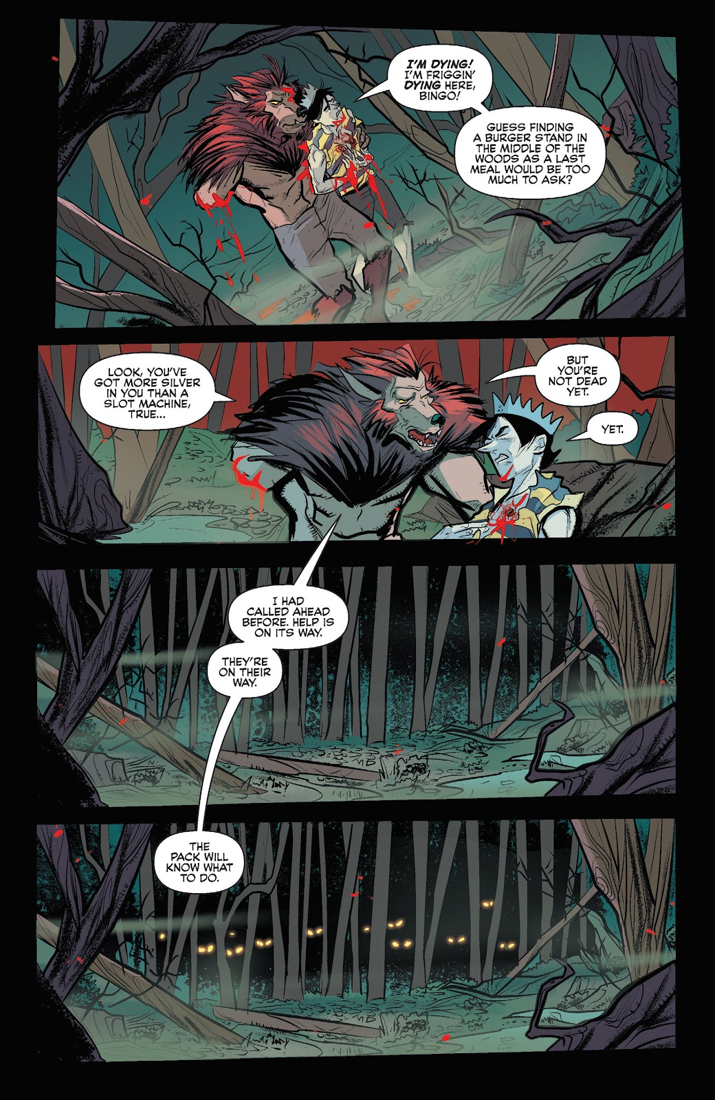 Jughead The Hunger Issue #3 #4 - English 19