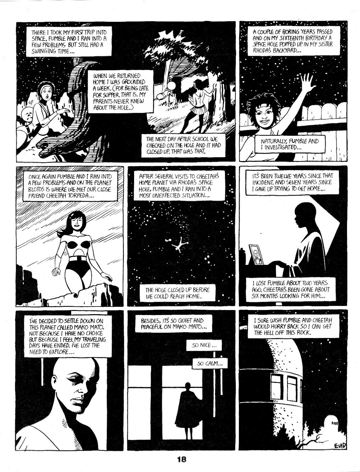 Love and Rockets (1982) Issue #17 #16 - English 20