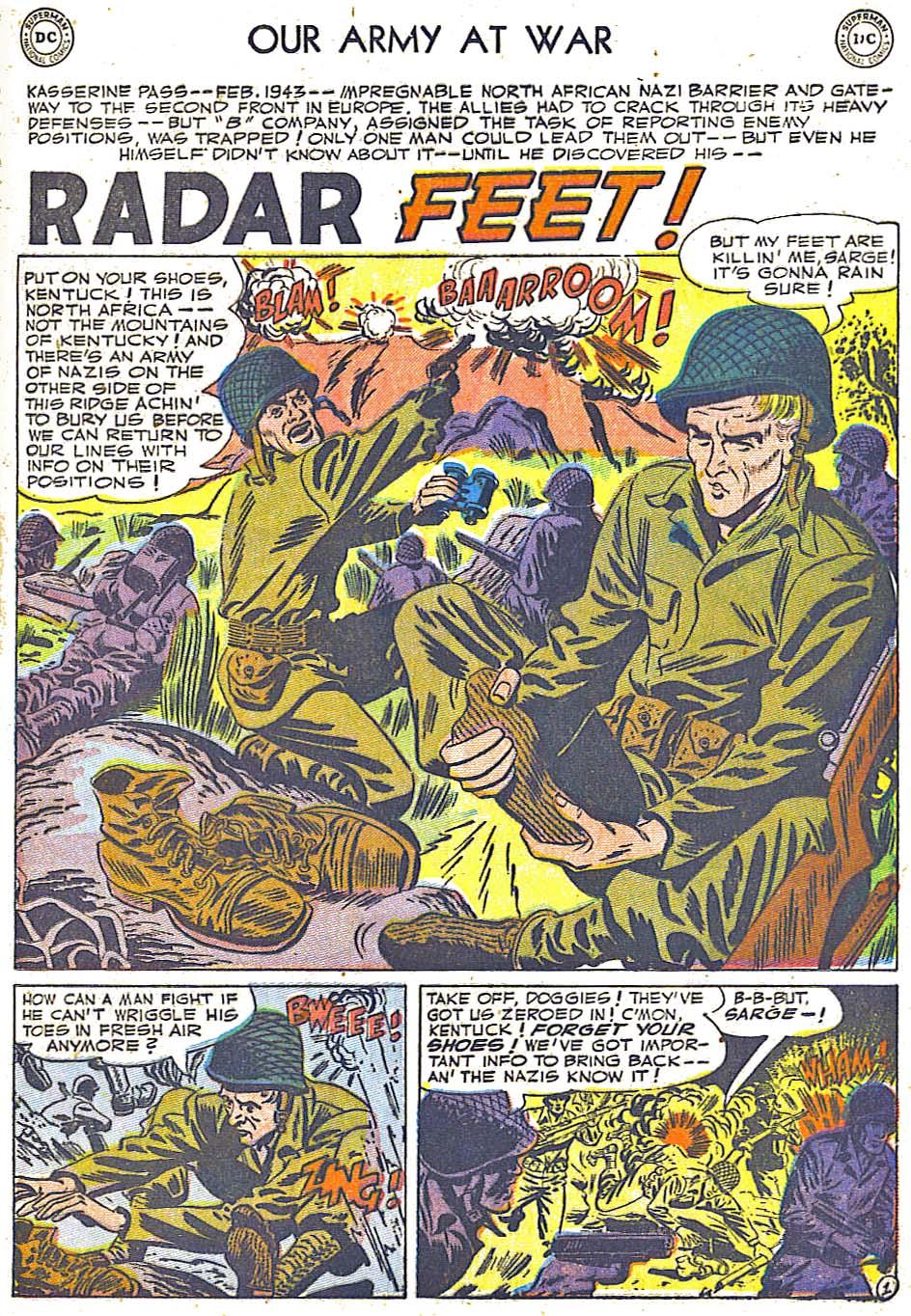 at War (1952) Issue #248 #301 - English 21