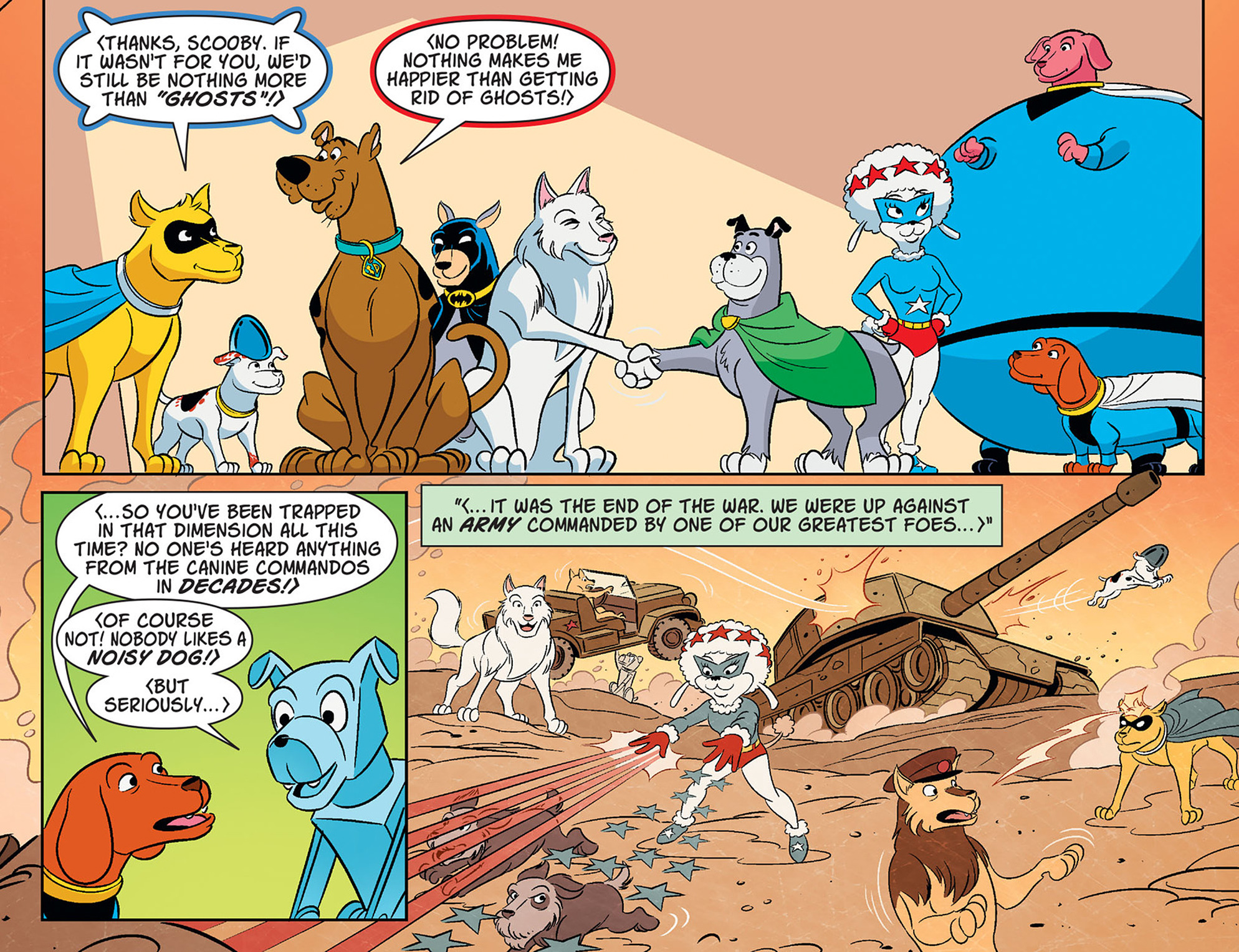 Read online Scooby-Doo! Team-Up comic -  Issue #36 - 11