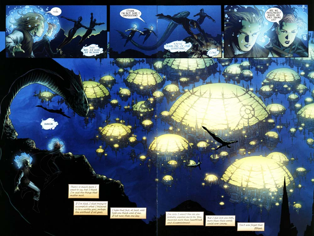 Read online Scion comic -  Issue #20 - 21