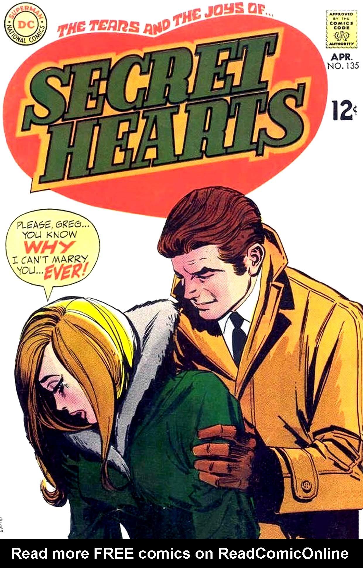 Read online Secret Hearts comic -  Issue #135 - 1