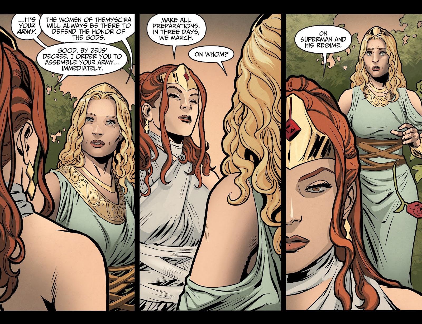 Injustice: Gods Among Us Year Four Issue #6 #7 - English 12