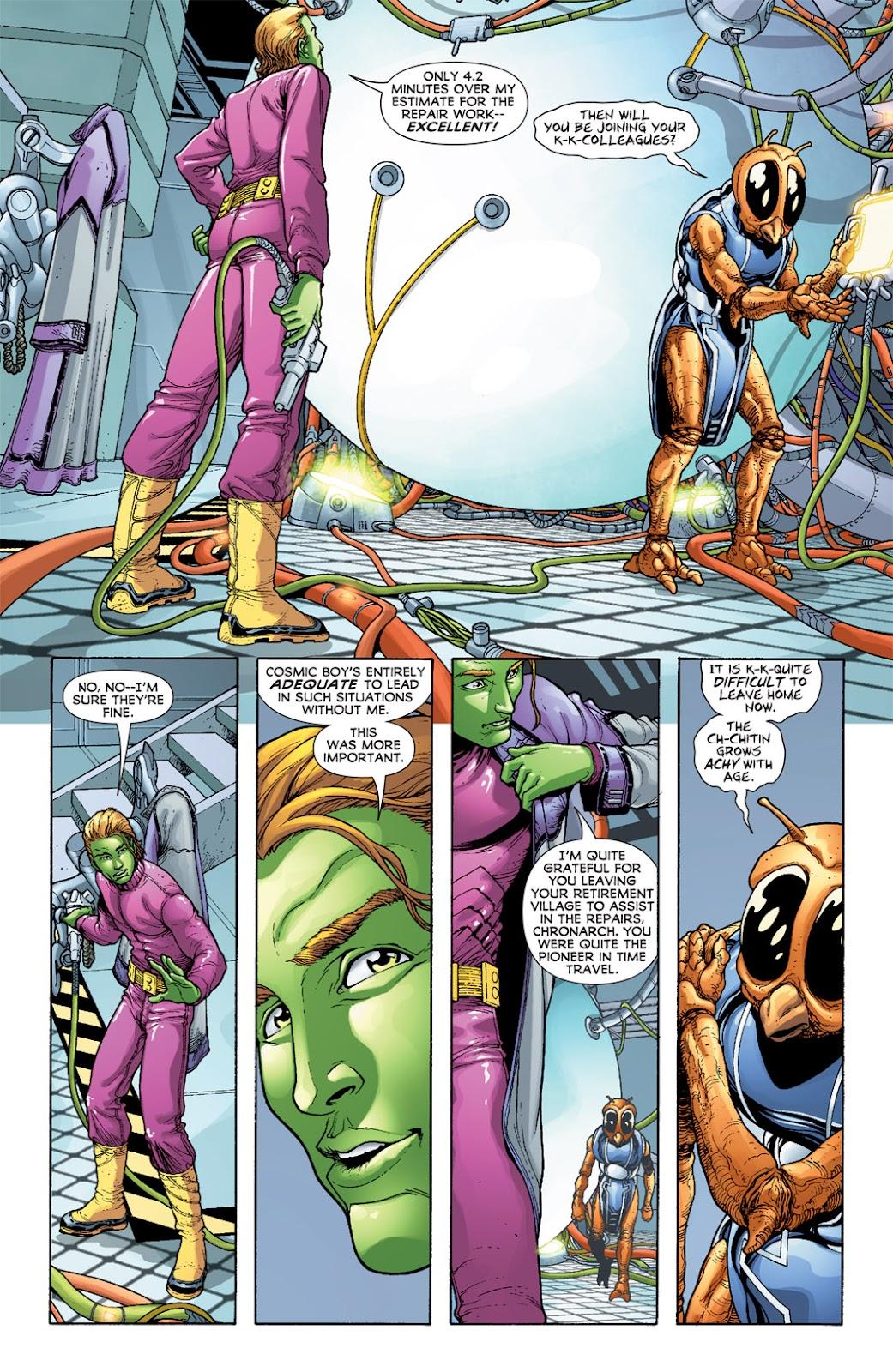 Legion of Super-Heroes (2010) Issue #5 #6 - English 25