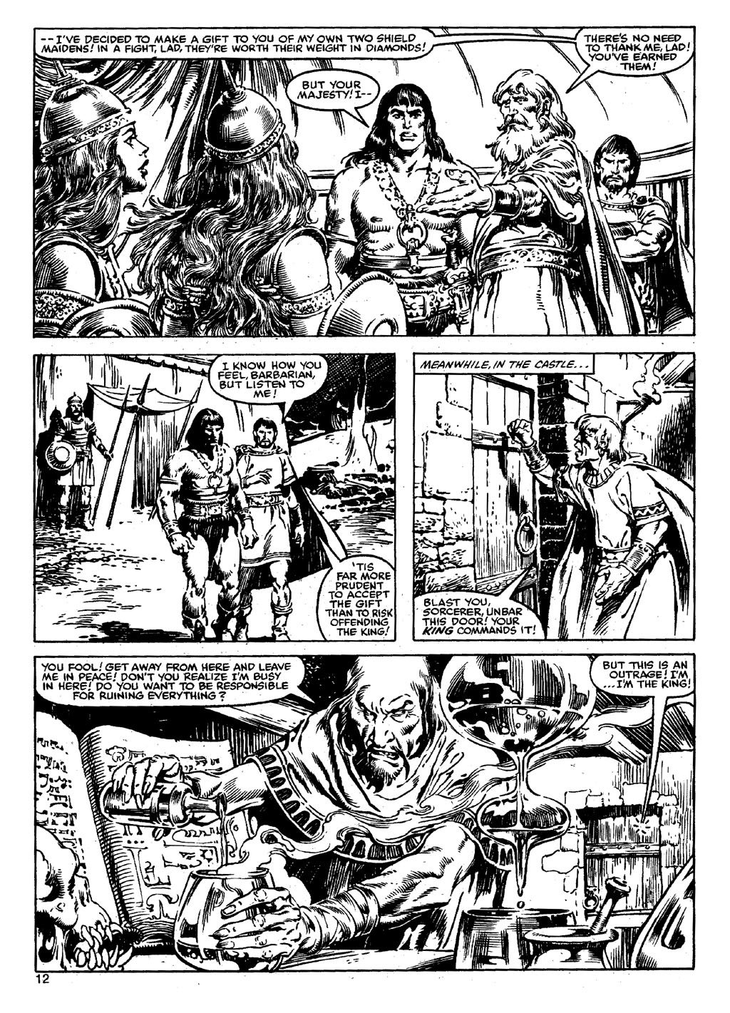 The Savage Sword Of Conan Issue #90 #91 - English 11