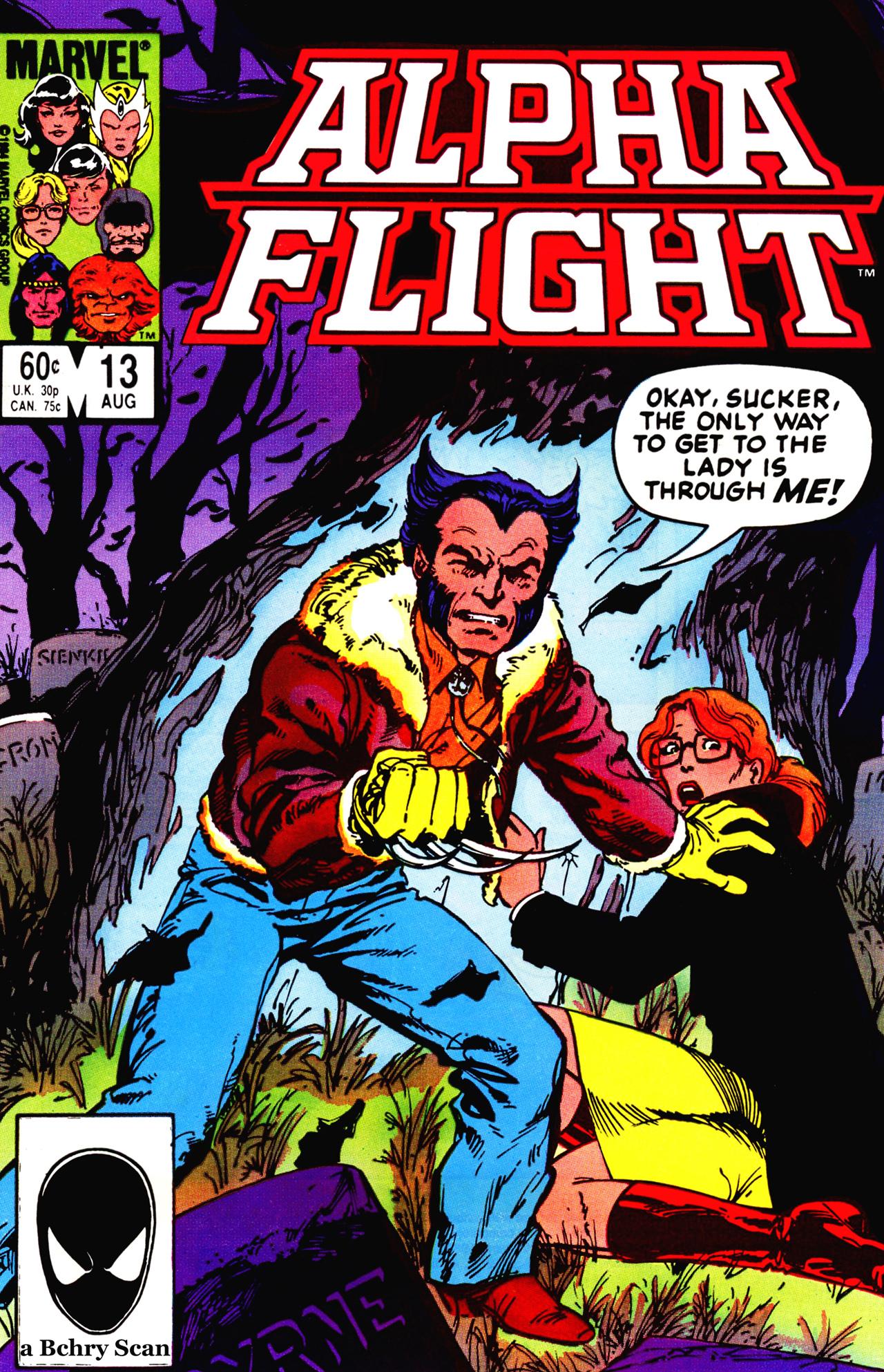 Alpha Flight (1983) 13 Page 1