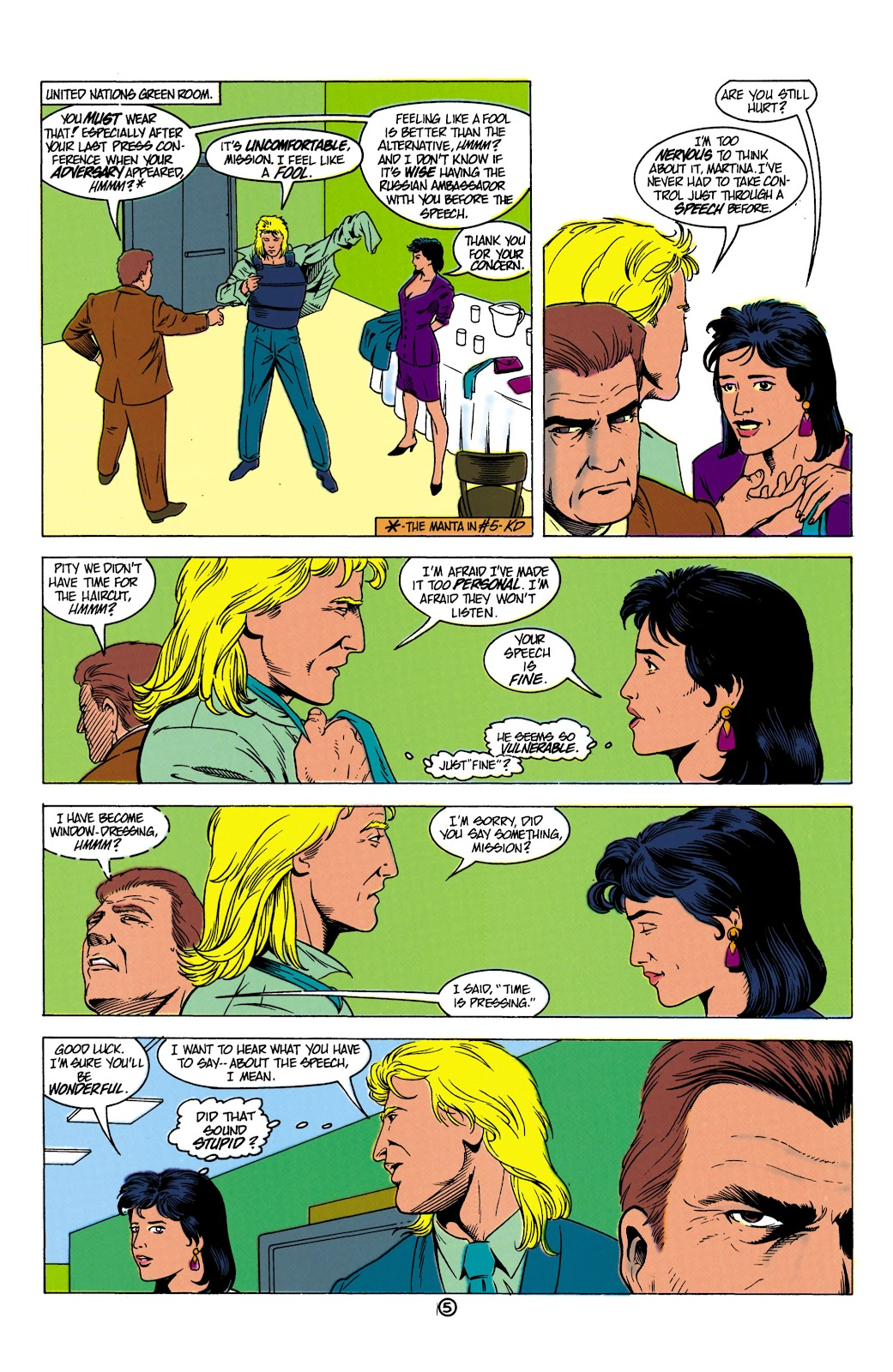 Aquaman (1991) Issue #8 #8 - English 6