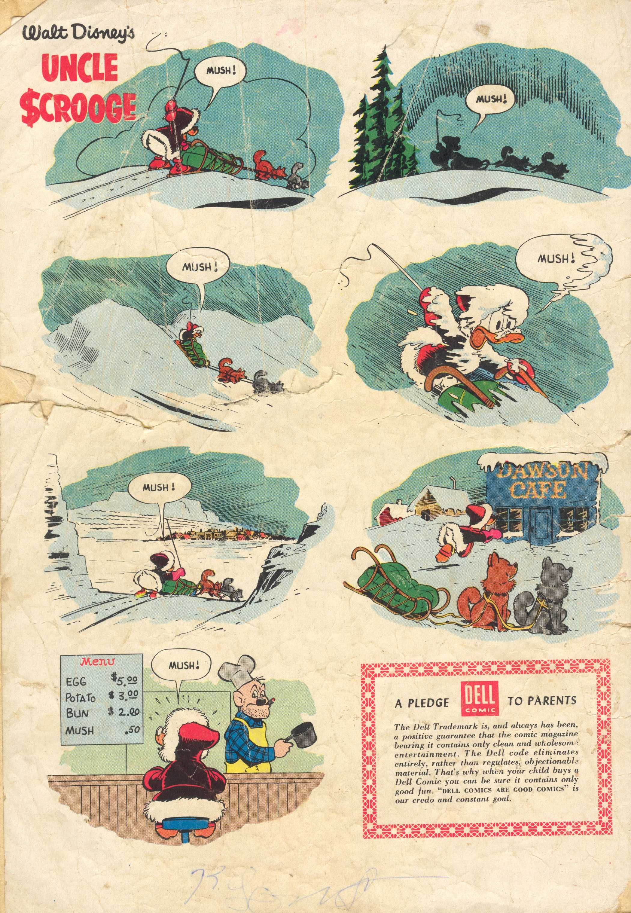 Uncle Scrooge (1953) #13 #392 - English 36