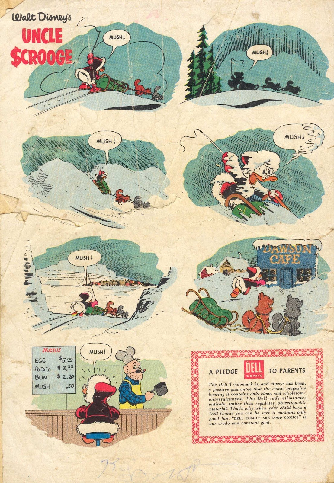 Uncle Scrooge (1953) Issue #13 #13 - English 36