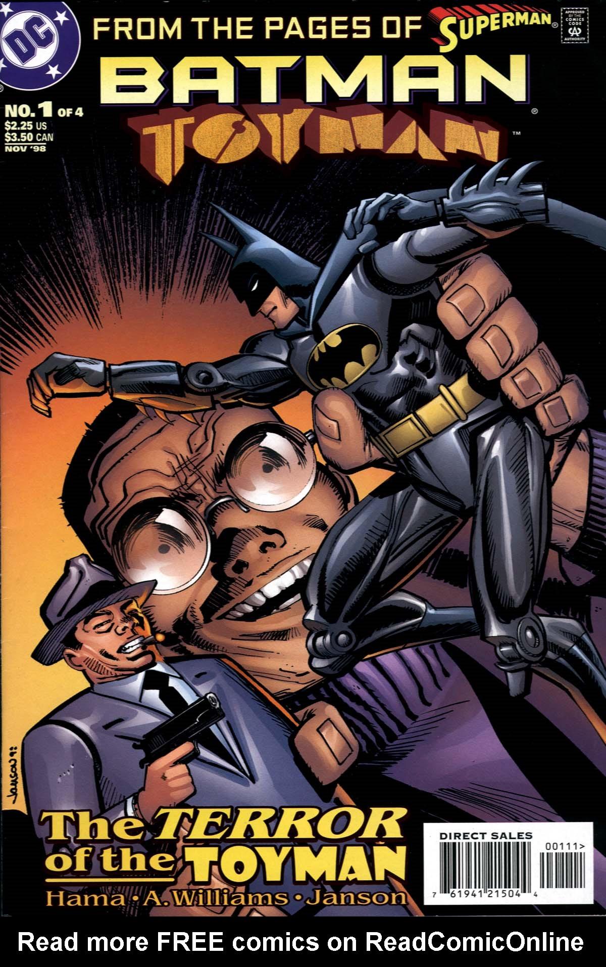 Batman: Toyman 1 Page 1