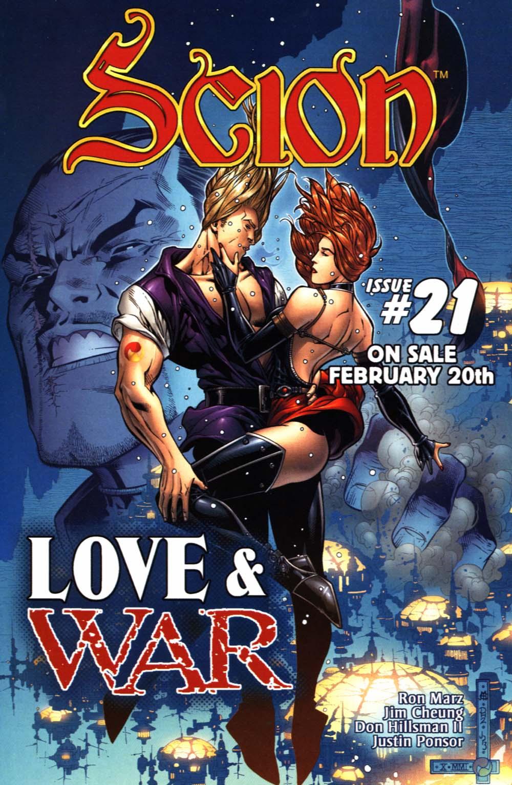 Read online Scion comic -  Issue #20 - 28